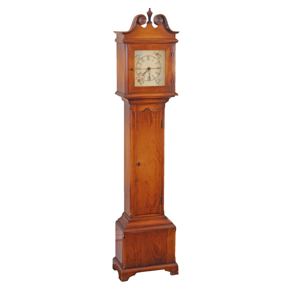 Vintage Grandmother Clock with Synchron Movement