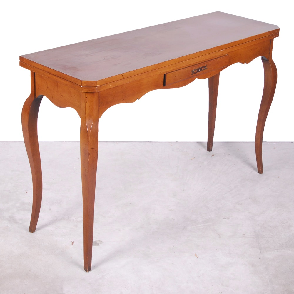 French Provincial Style Game Table
