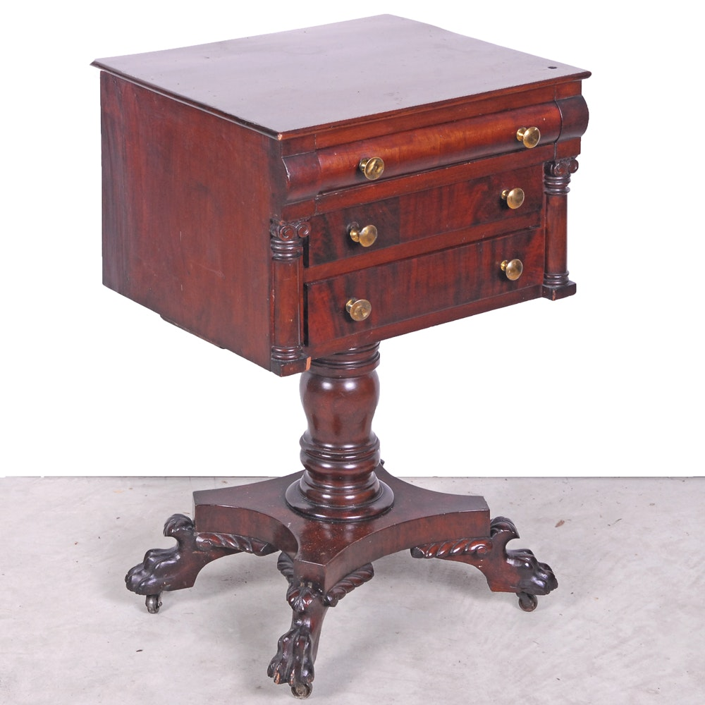 Vintage Mahogany Accent Table