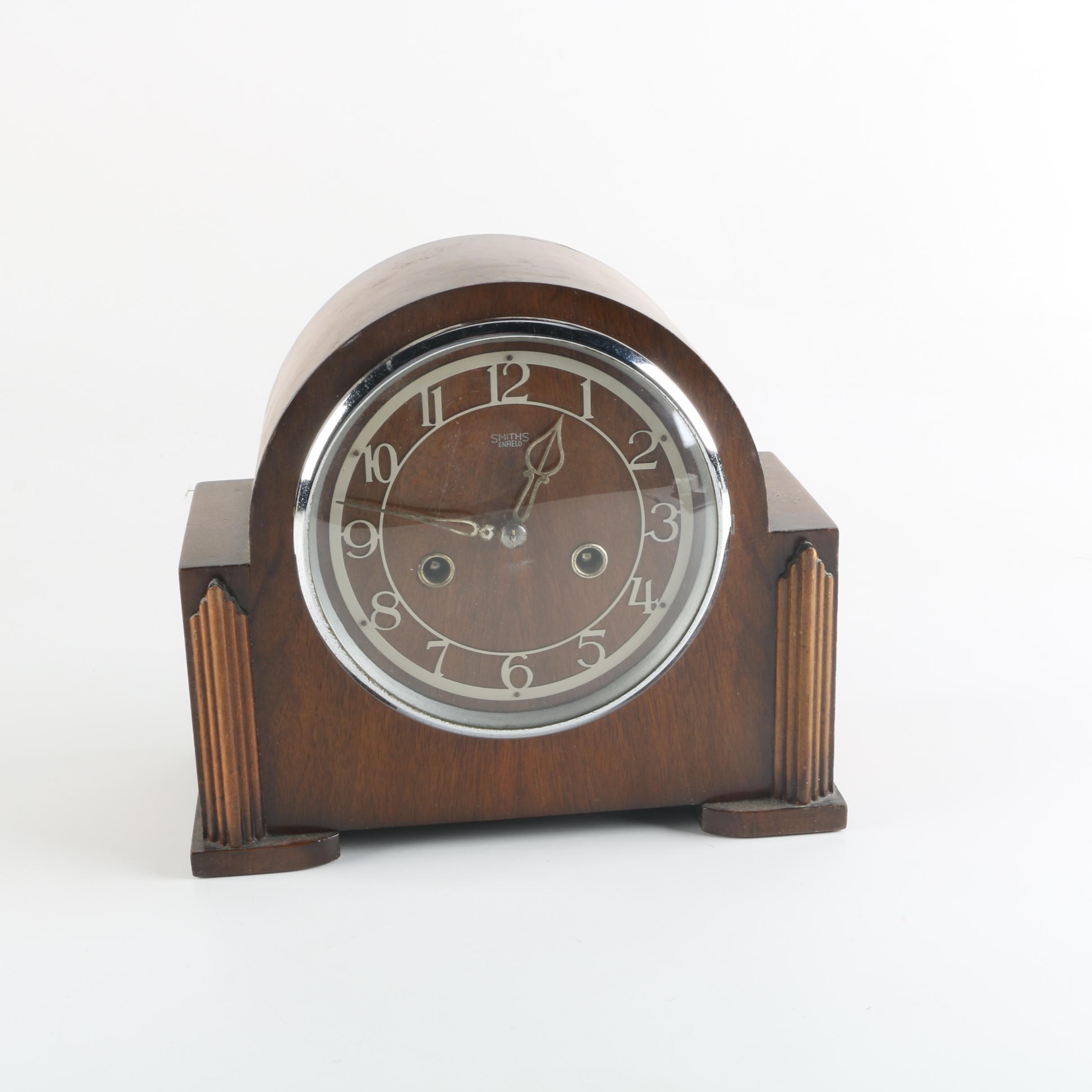 Vintage Smiths Enfield Art Deco Style Pendulum Clock