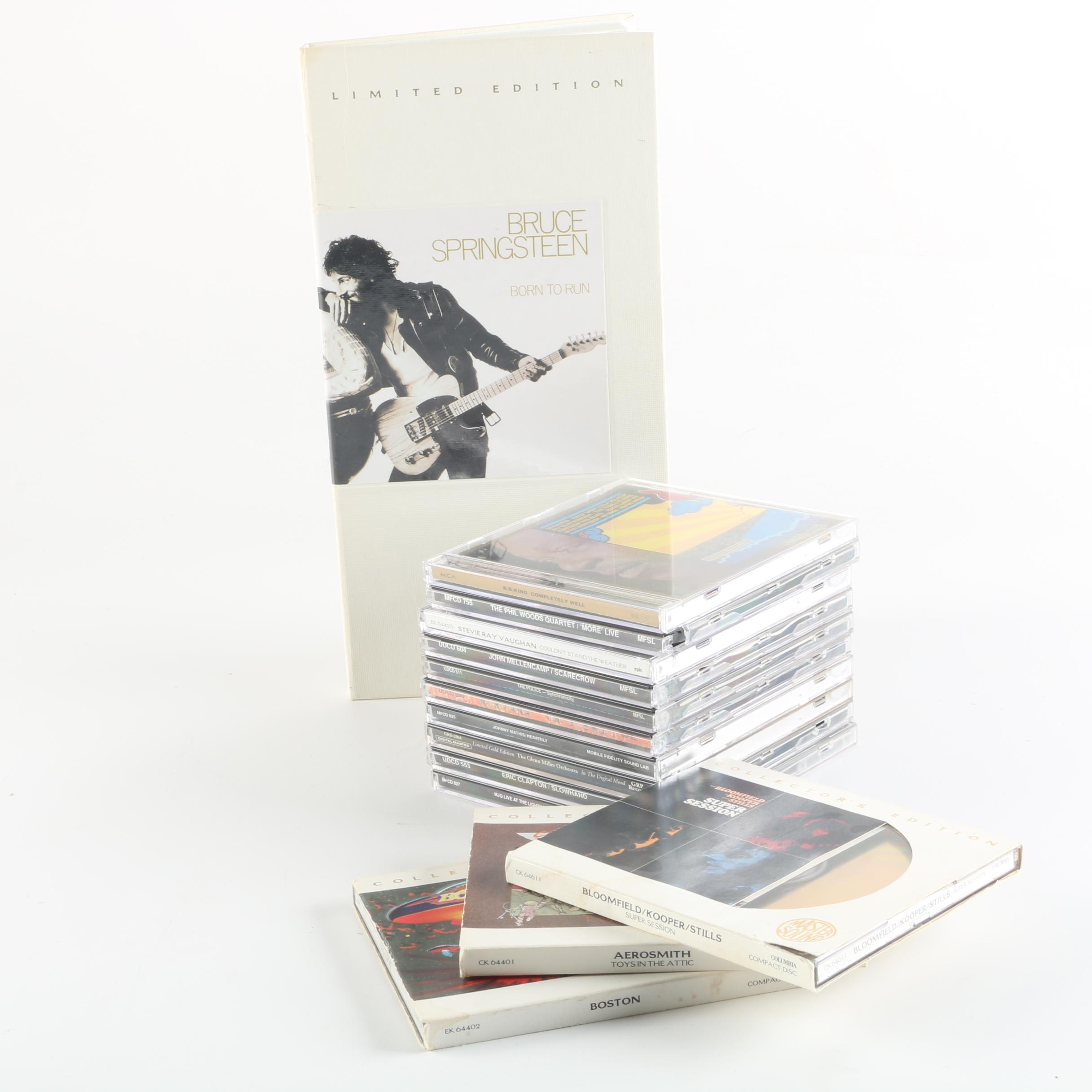Aerosmith, Boston and Springsteen Master Sound Collector's Edition CDs and More