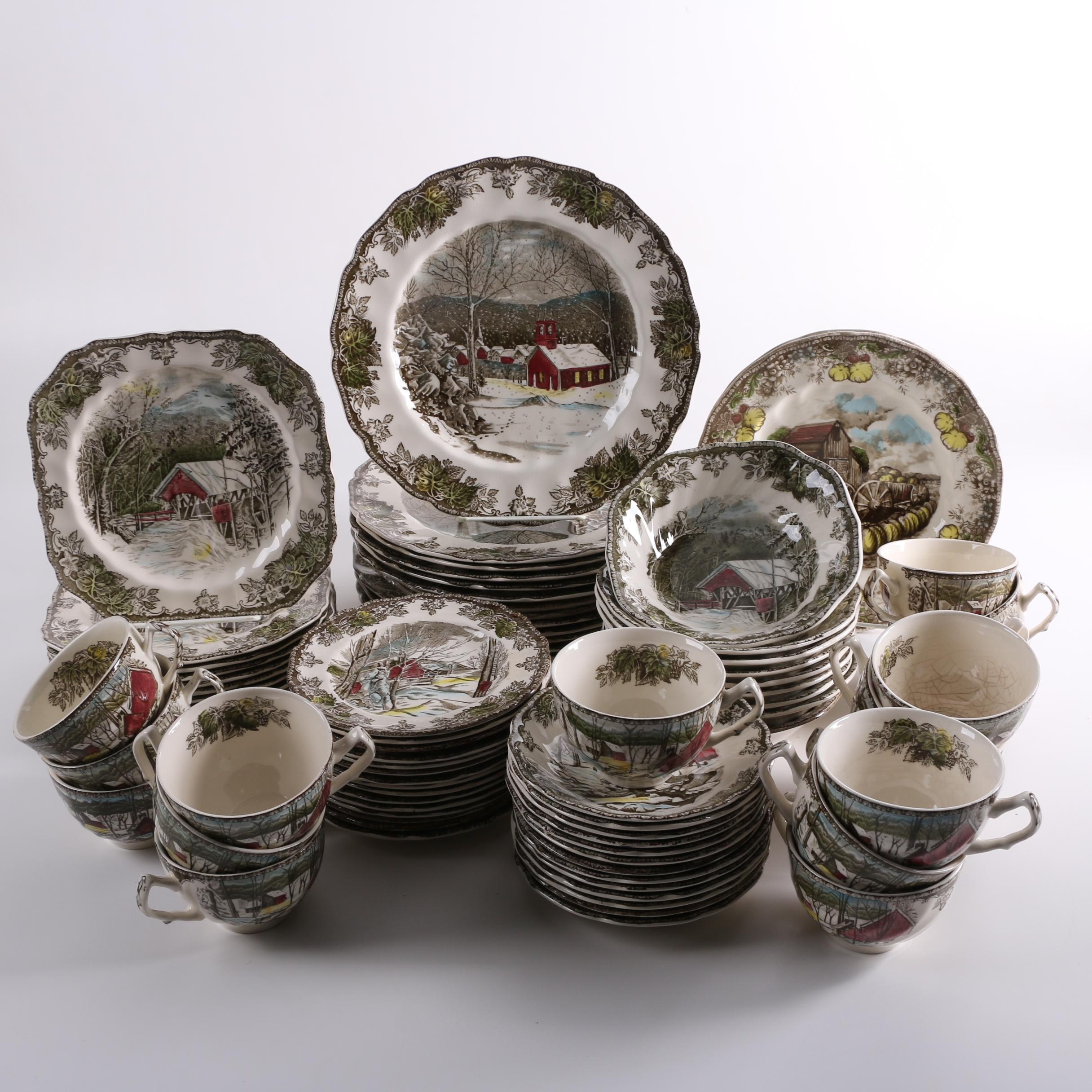 Johnson Brothers  Friendly Village  Earthenware Dinnerware ... & Johnson Brothers