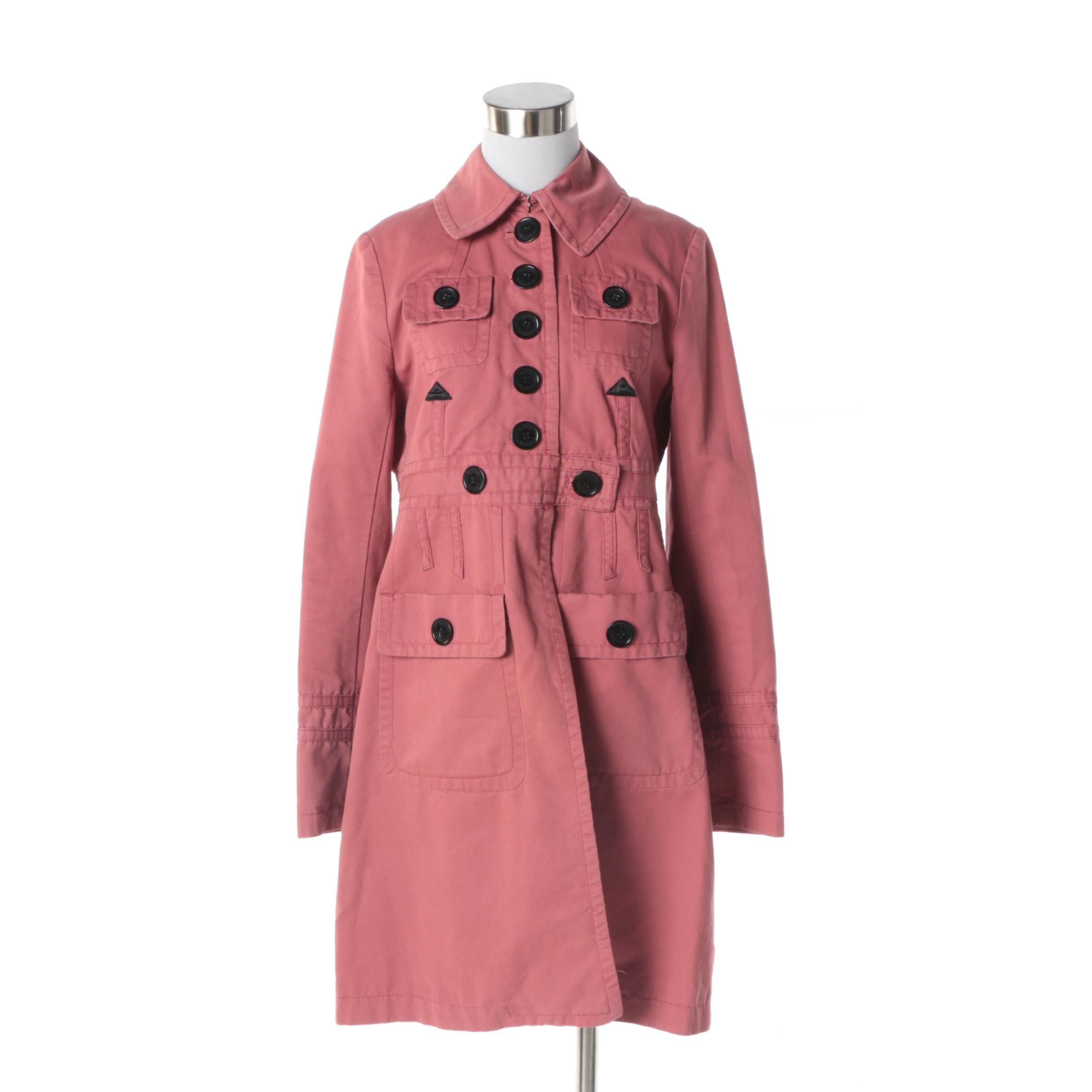 Women's Marc Jacobs Mauve Cotton Jacket