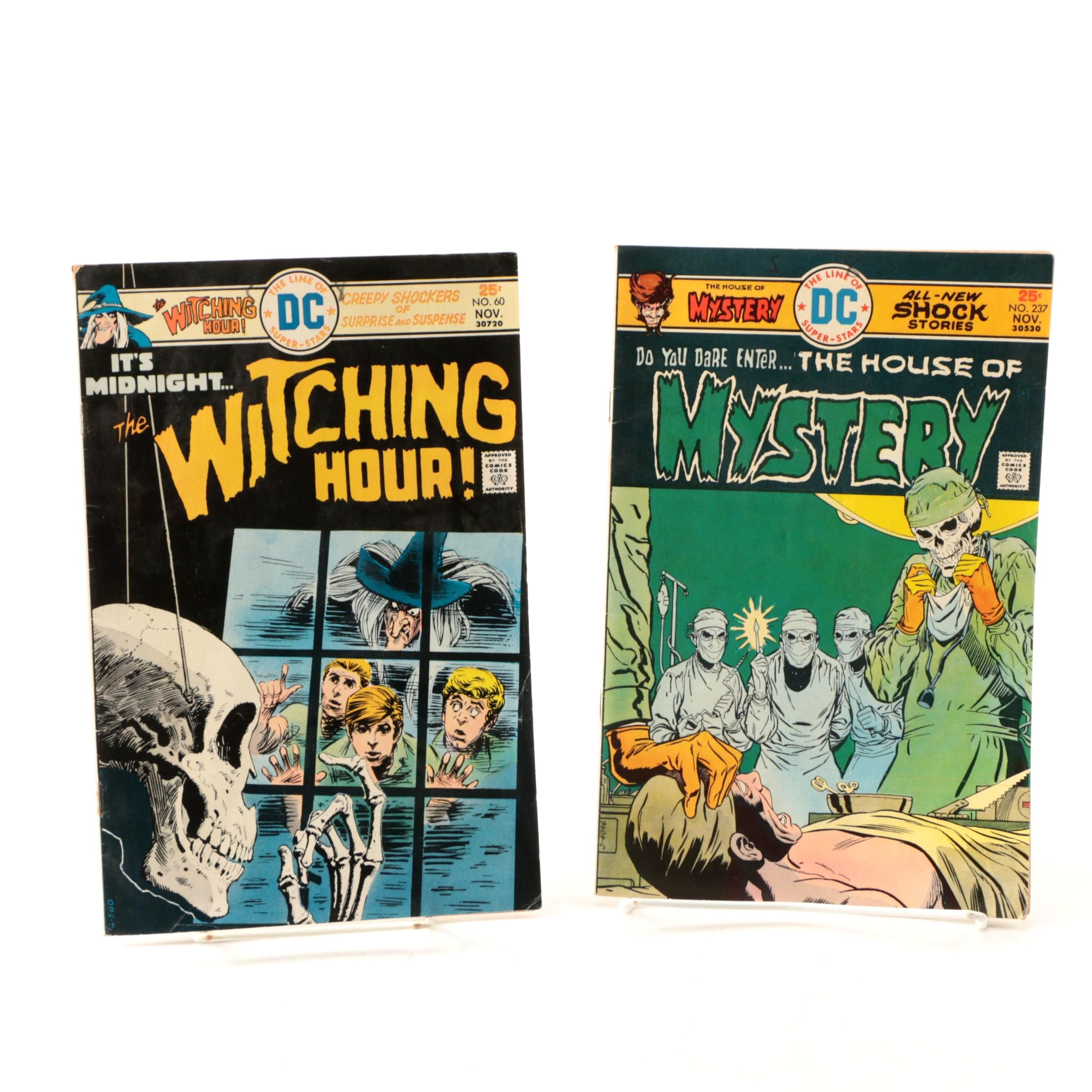 "1970s ""The House of Mystery"" and ""The Witching Hour"""