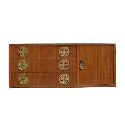 Chinese Style Teak Wood Cabinet
