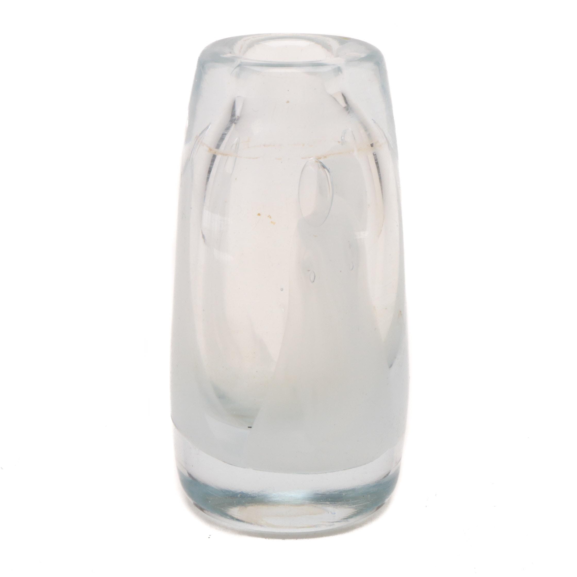 Dominick Labino Art Glass Vase