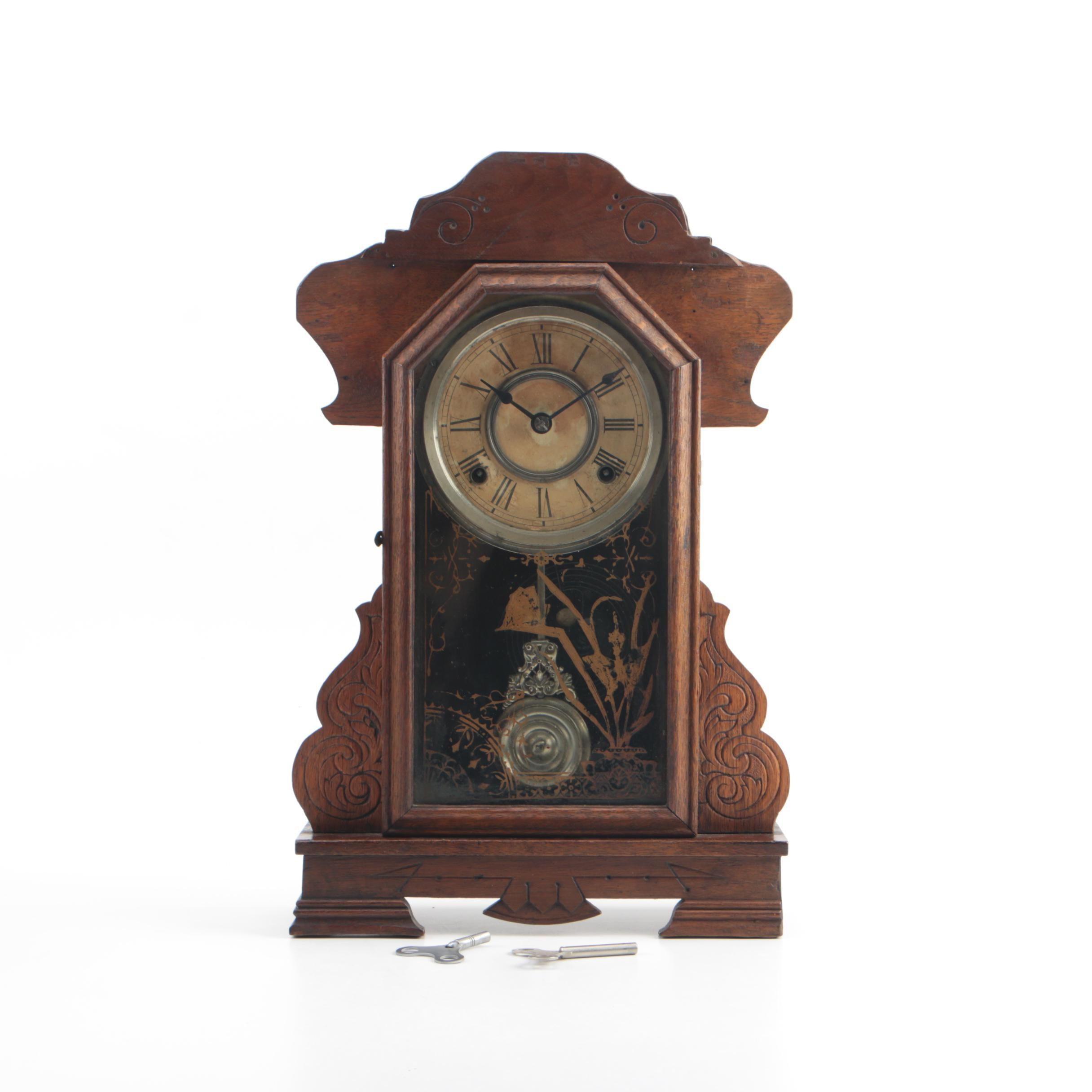19th Century Gingerbread Clock