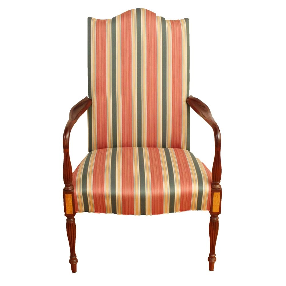 Hickory Chair Company Federal Style Lolling Chair