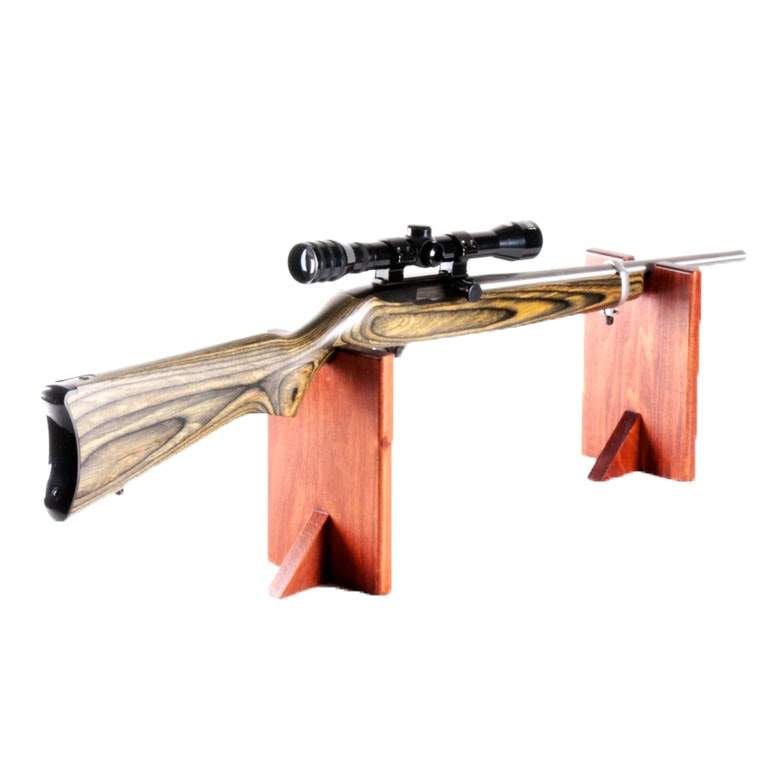 Ruger 10/22 Semi-Automatic Rifle With 17 HM2 Conversion and Armsport Scope