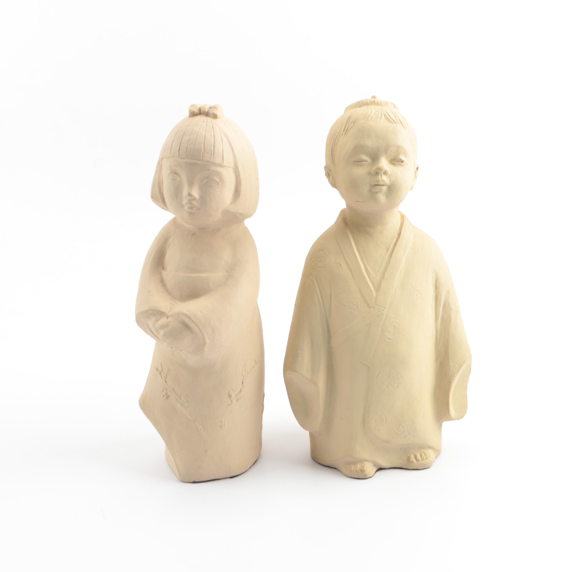 Japanese Inspired Austin Productions Sculptures