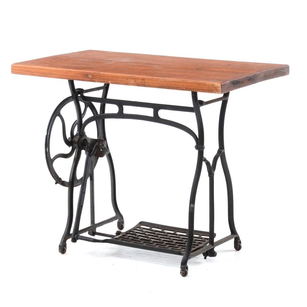 Vintage Treadle Sewing Table