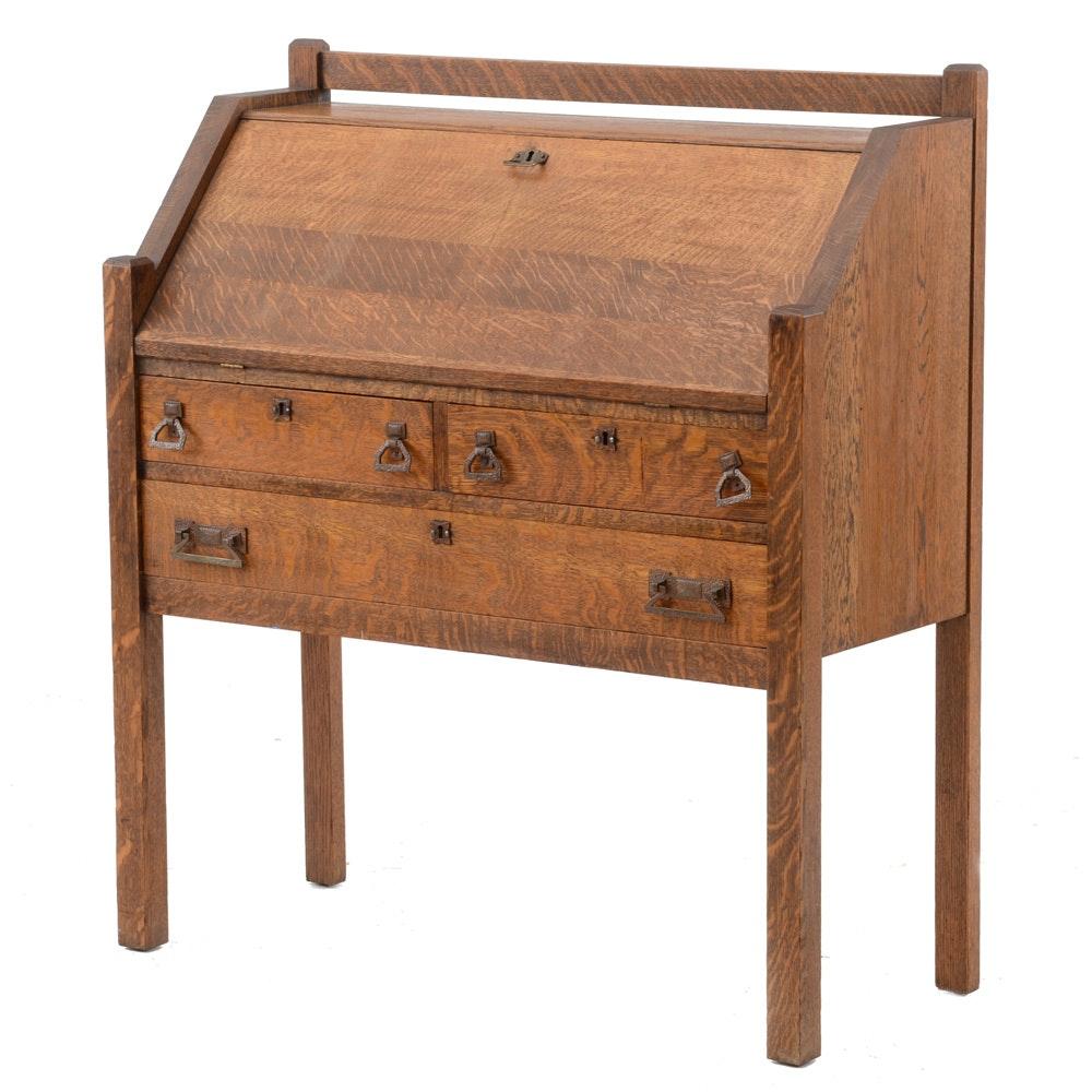 Vintage Slant Top Desk