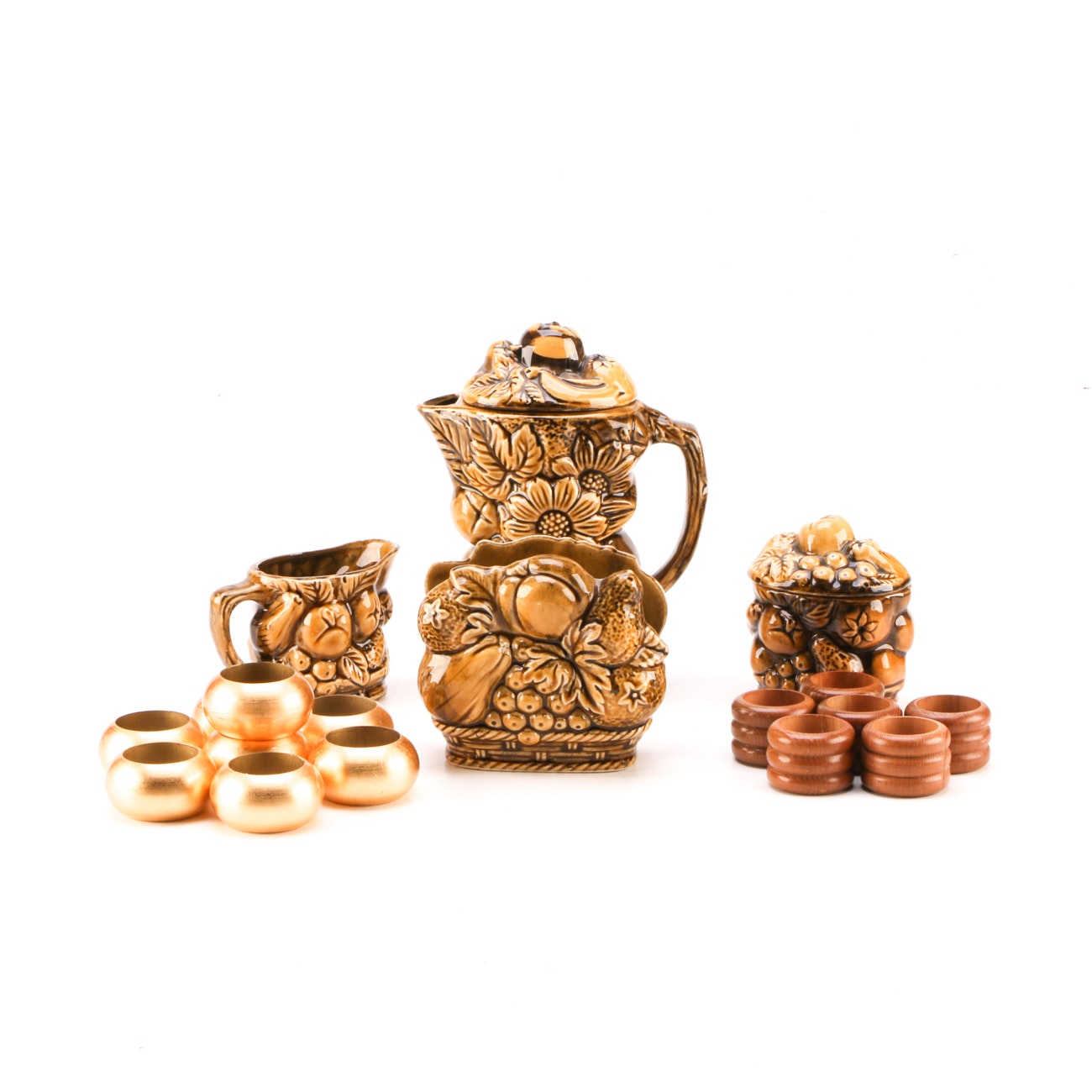 Decorative Tableware and Napkin Rings