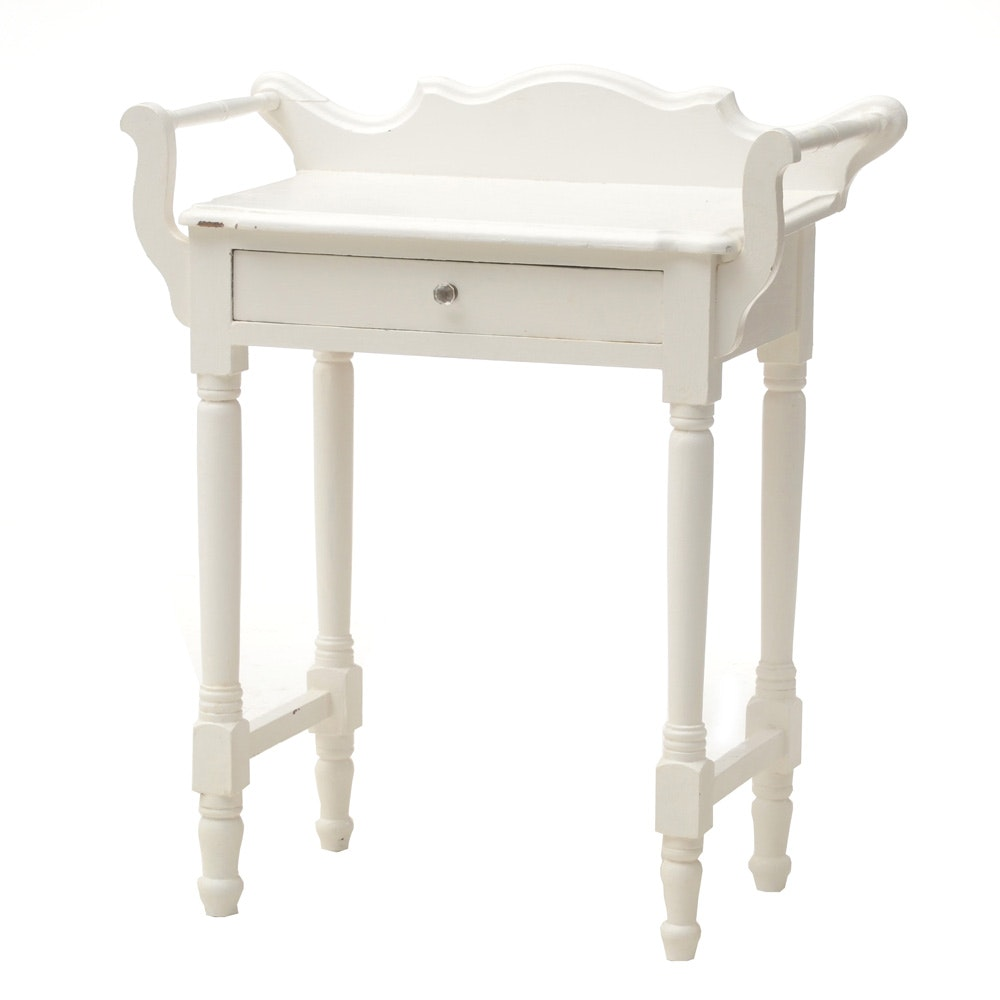 White Painted Washstand