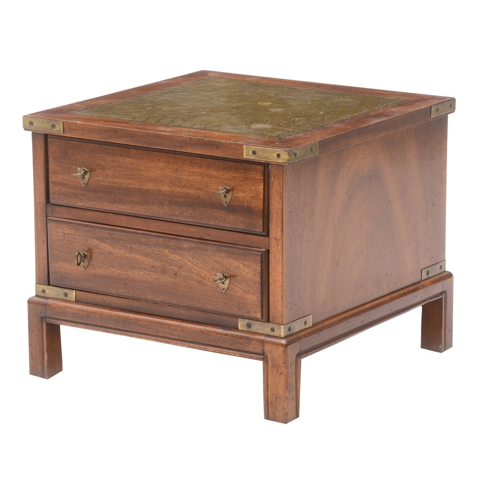 Mahogany End Table / Chest by Globe Furniture