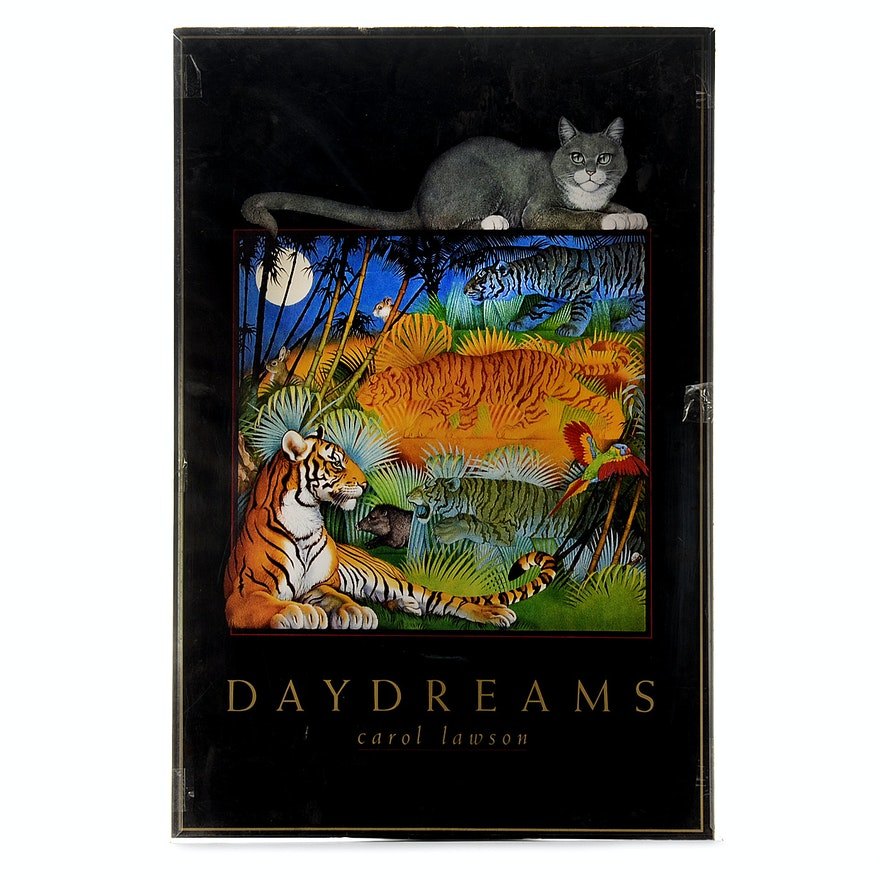 """Carol Lawson's """"Daydreams"""" Framed Poster"""