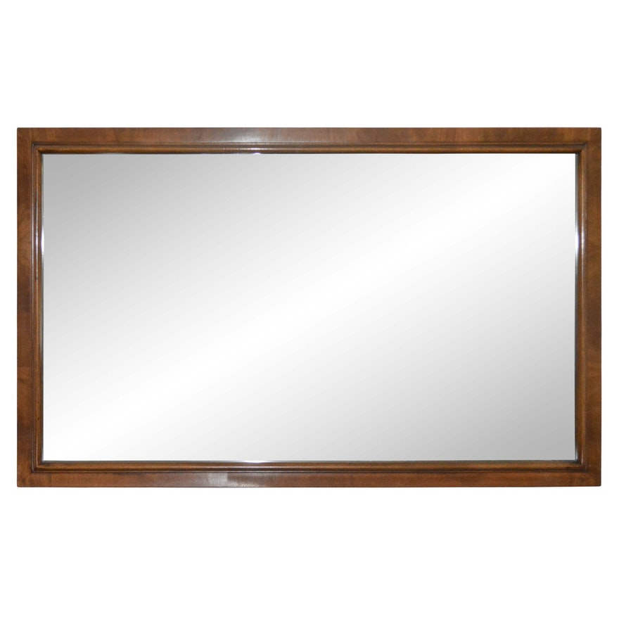 Large Wood Frame Wall Mirror : EBTH