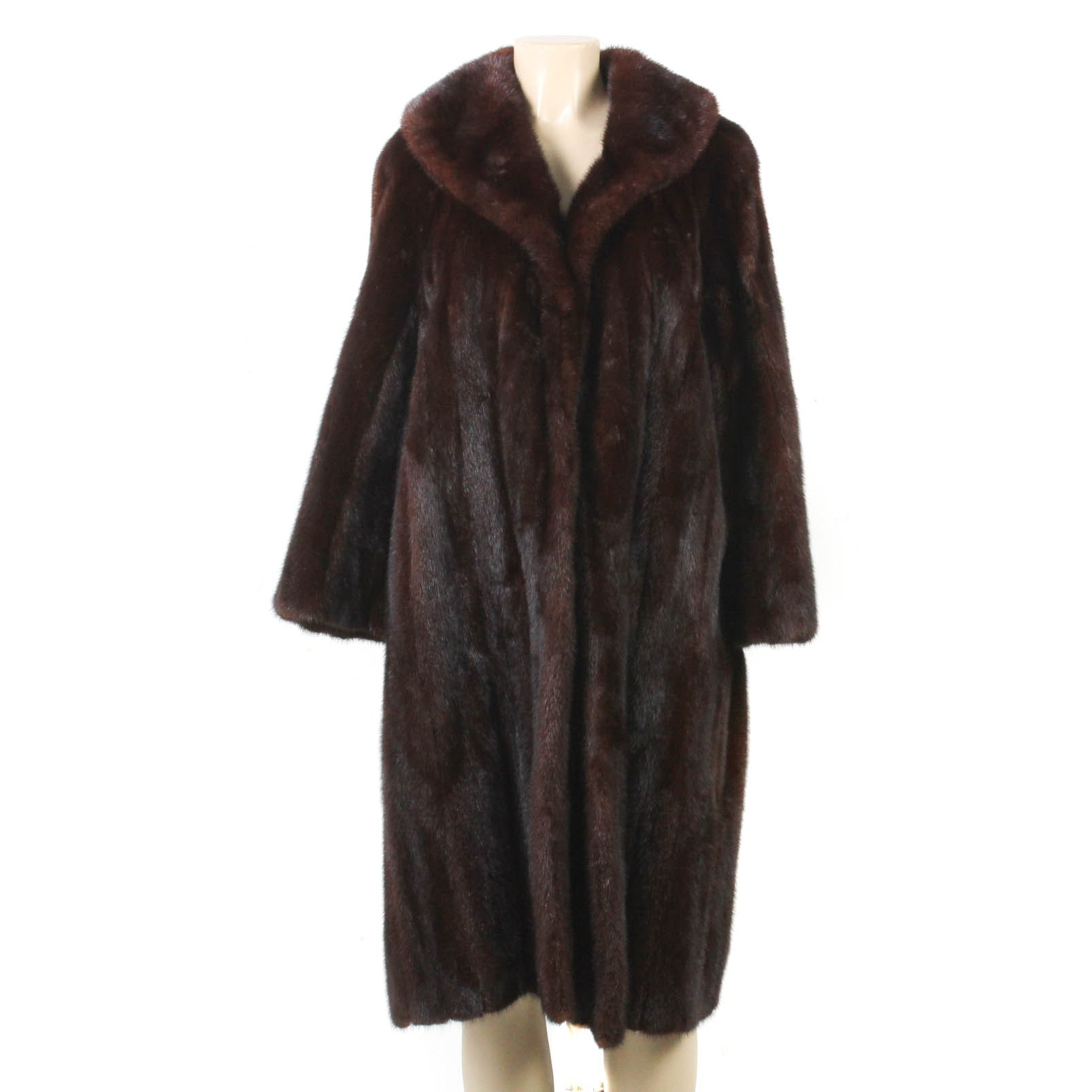 Somper Furs of Beverly Hills Mahogany Mink Fur Coat