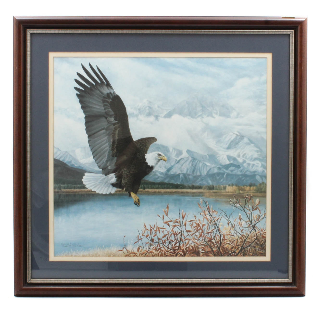 """Charles Frace Limited Edition Offset Lithograph Print """"Wings Over America"""""""