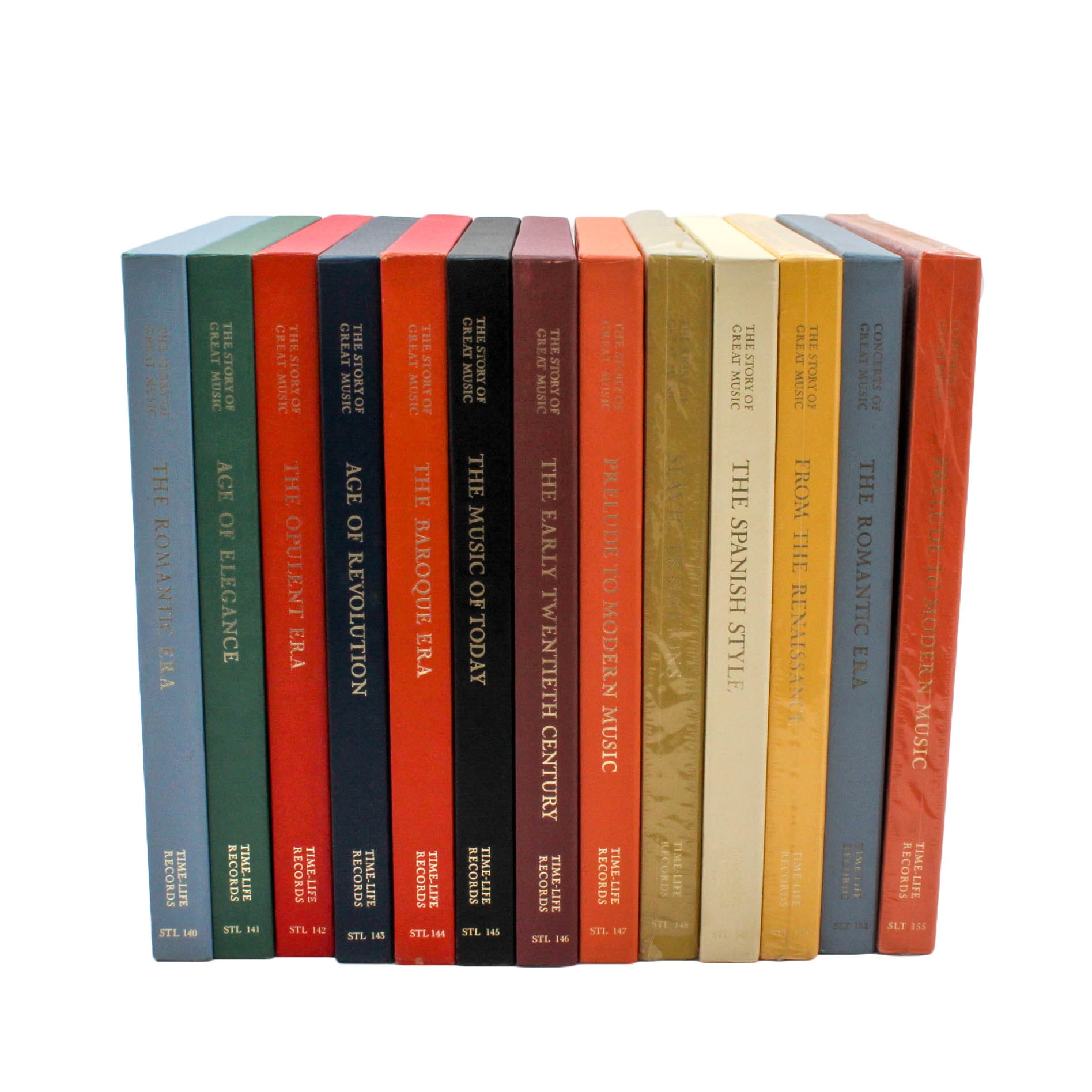 """""""Story of Great Music"""" Boxed Set Record Albums"""