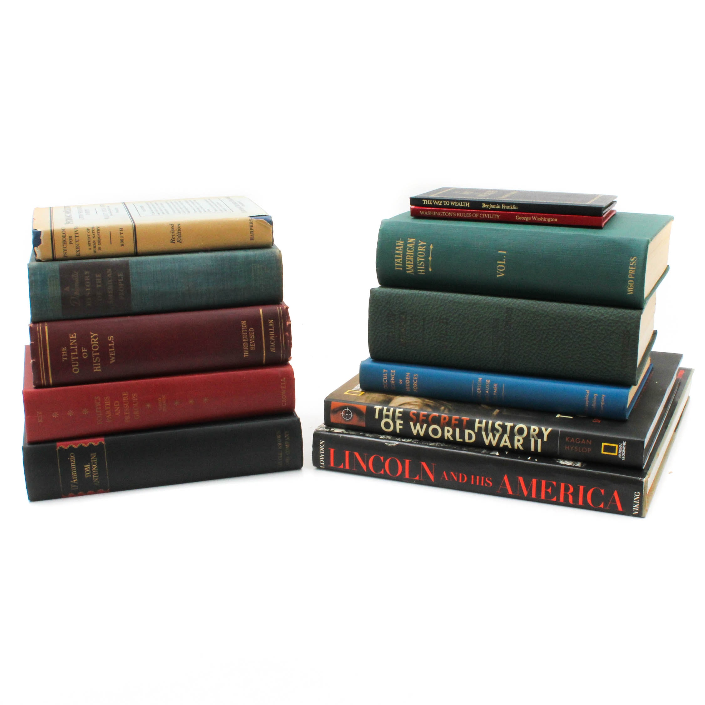 Vintage History and Non-Fiction Books