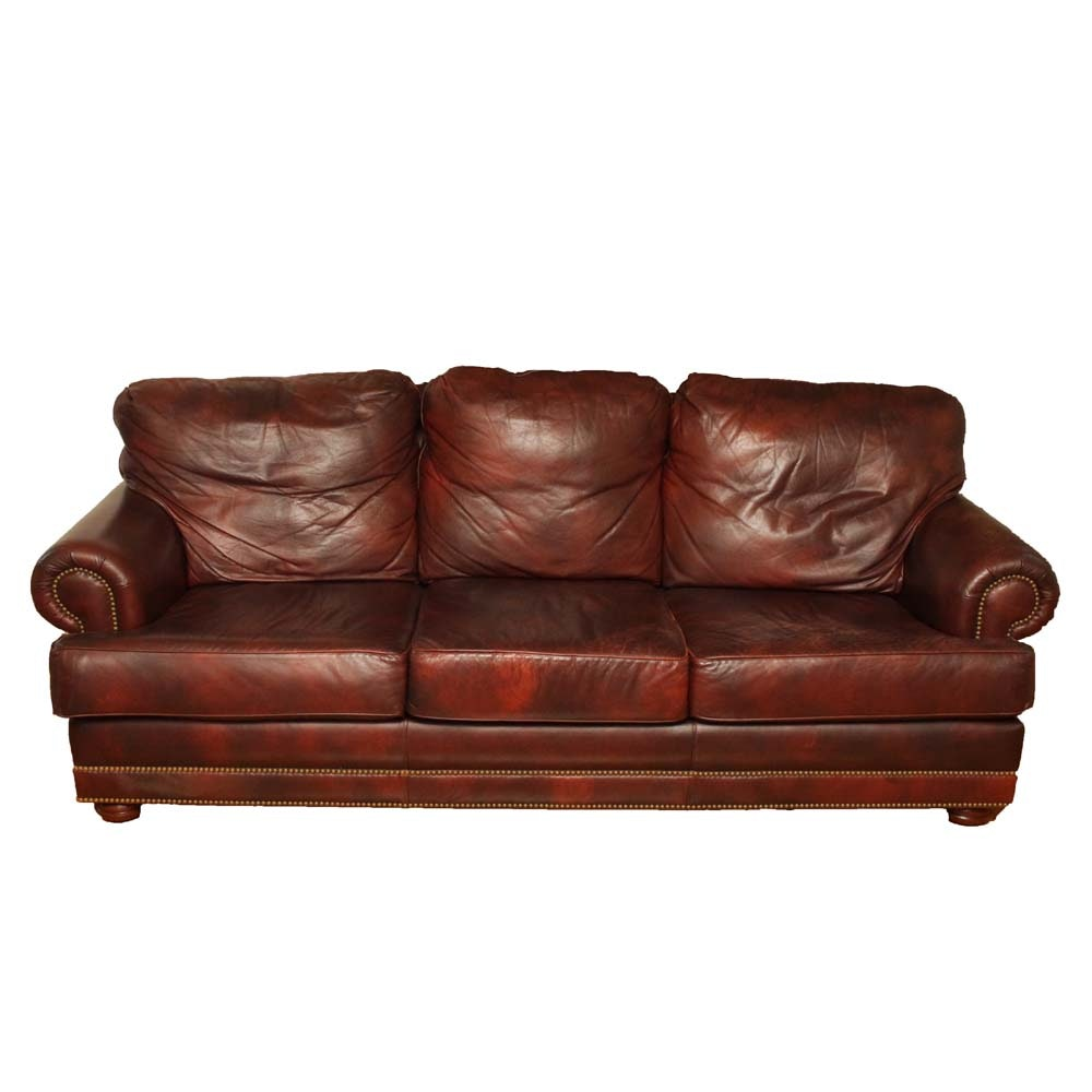Traditional Leather Creations Sofa