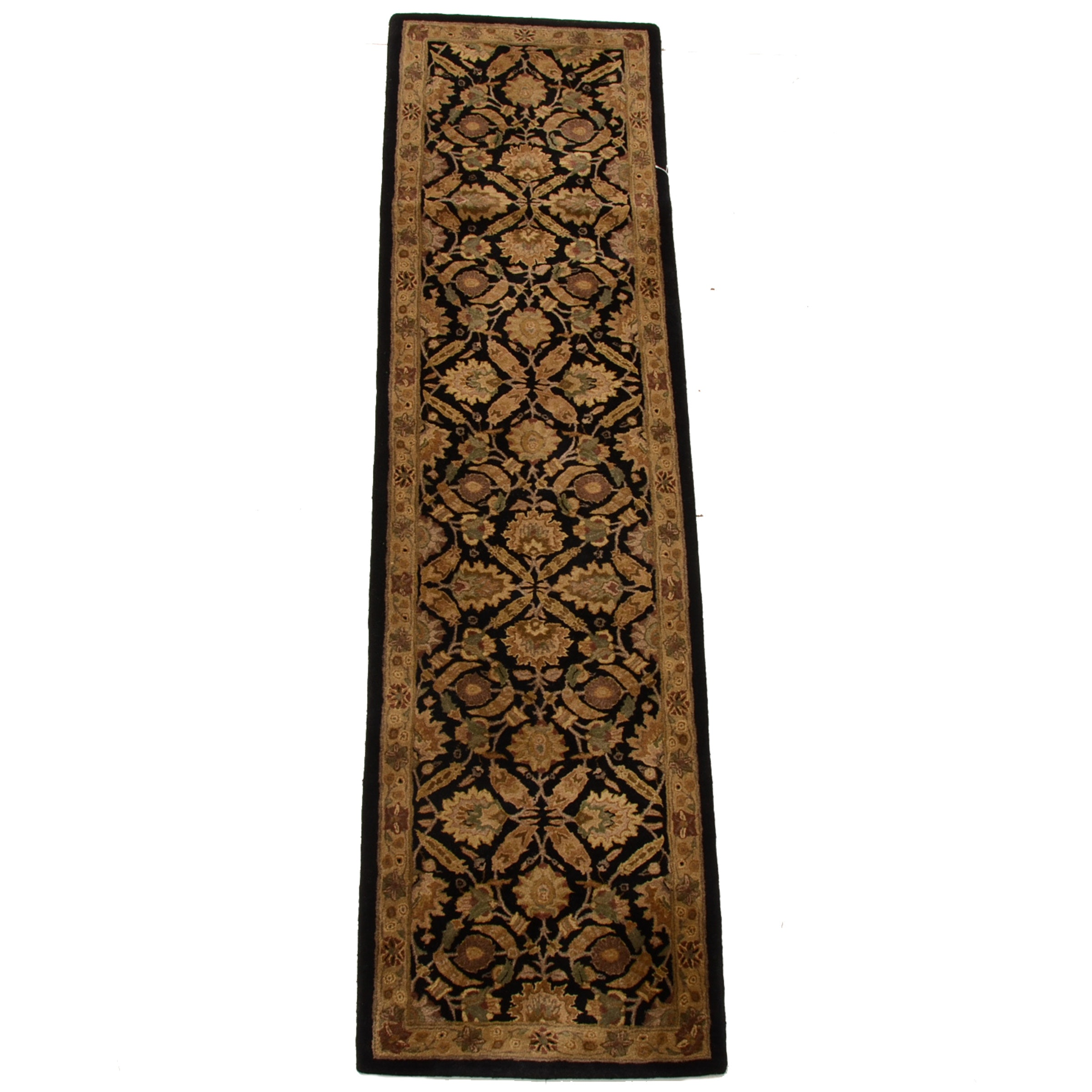 "Tufted Indian Kaimuri ""Polonaise"" Carpet Runner by Capel"