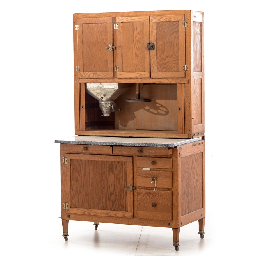 Vintage Hoosier Cabinet Ebth