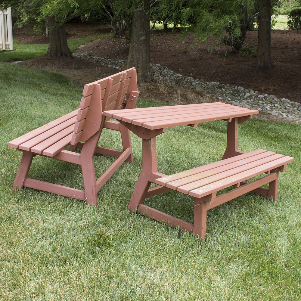 Convertible Table Benches