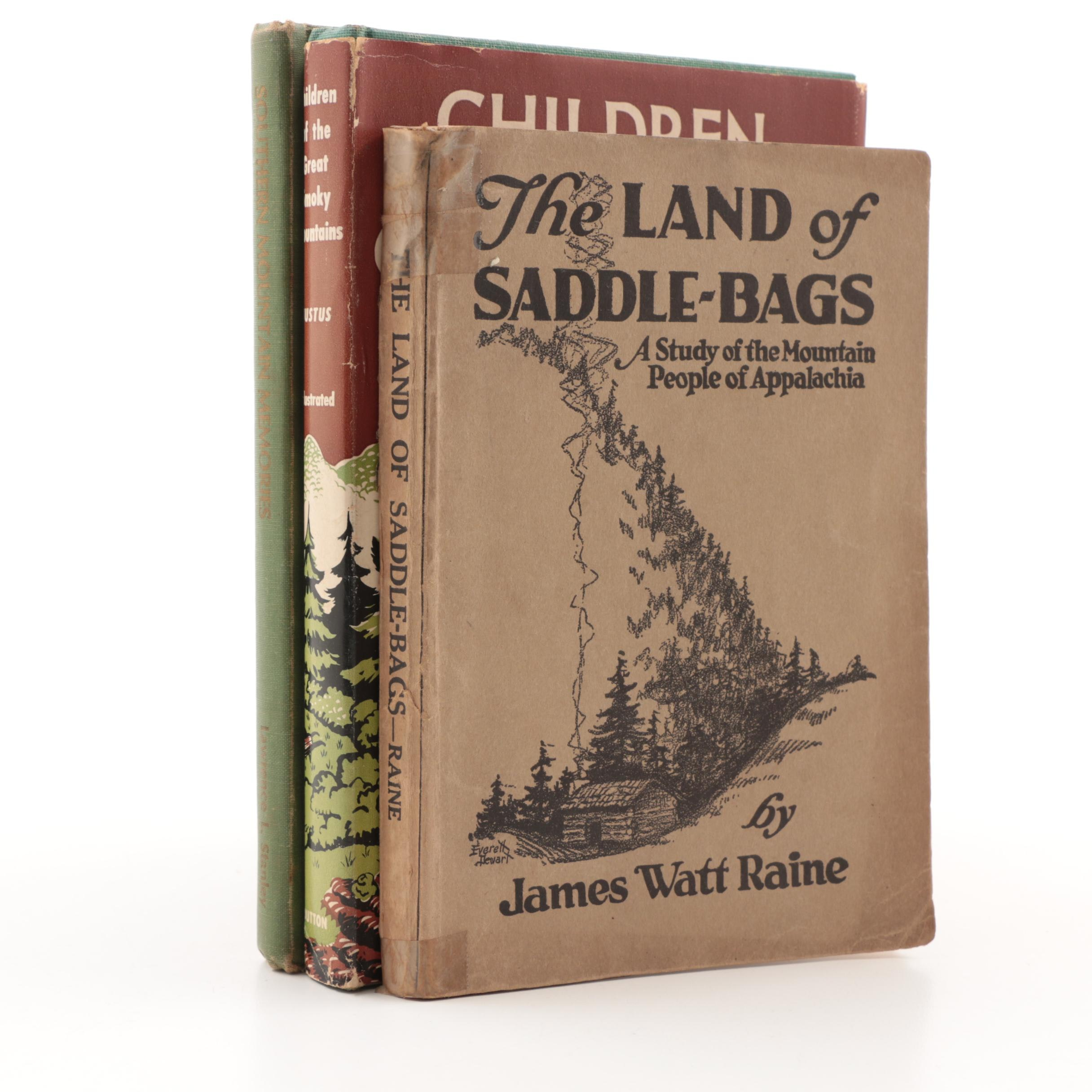 """1952 First Edition """"Children Of the Great Smoky Mountains"""" and Other Books"""