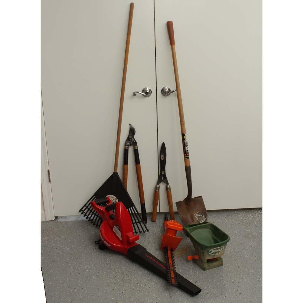 Gardening Tool Collection featuring Black&Decker