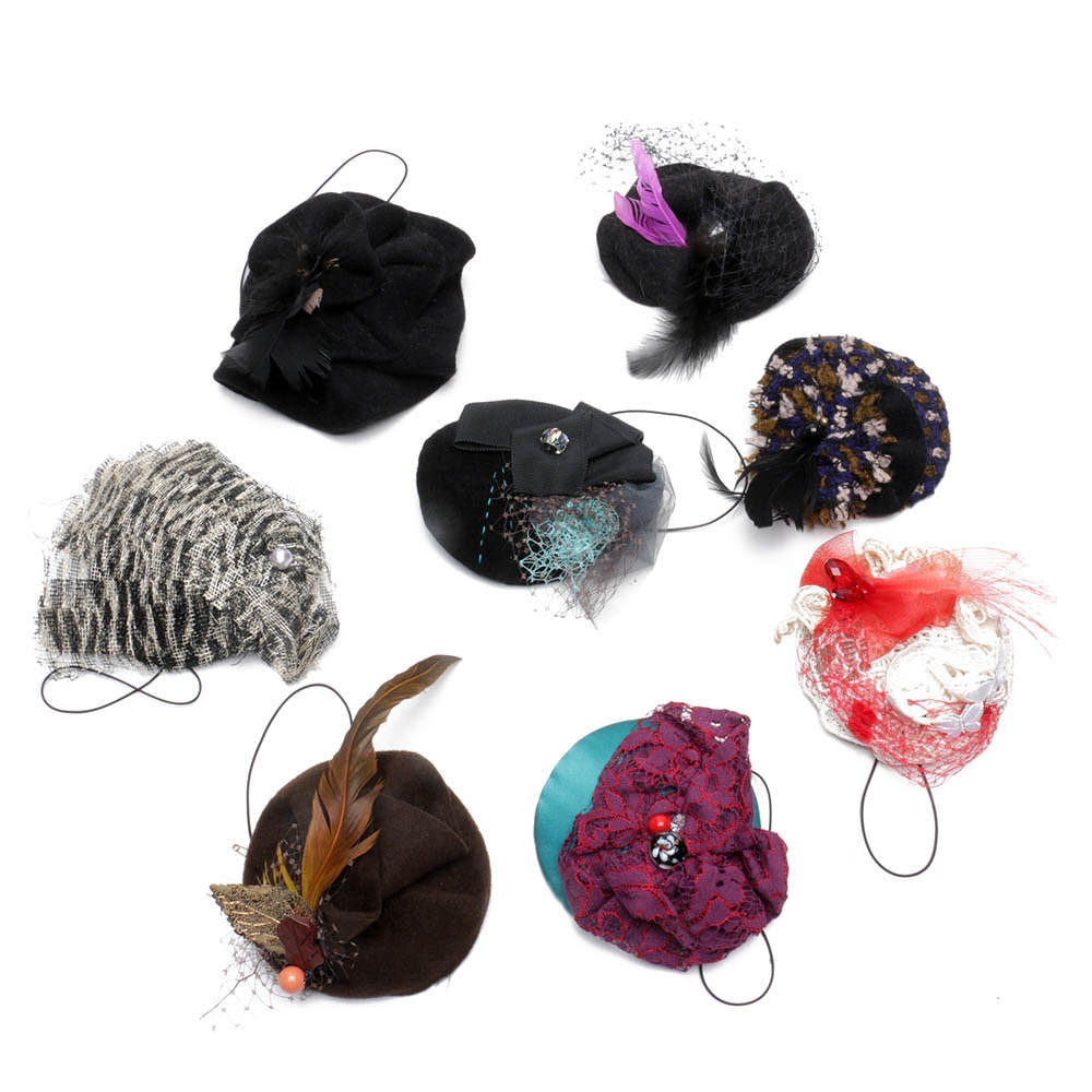 Vintage Selima by V Embellished Fascinators