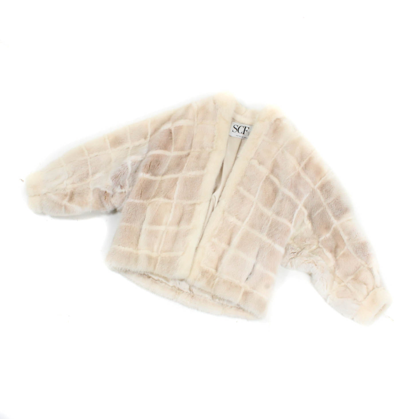 Blonde Mink Fur Jacket