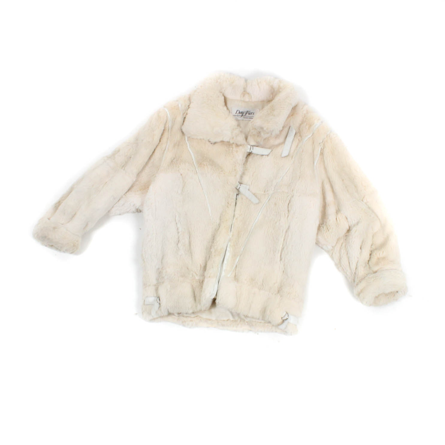 Vintage Rex Rabbit Fur Jacket