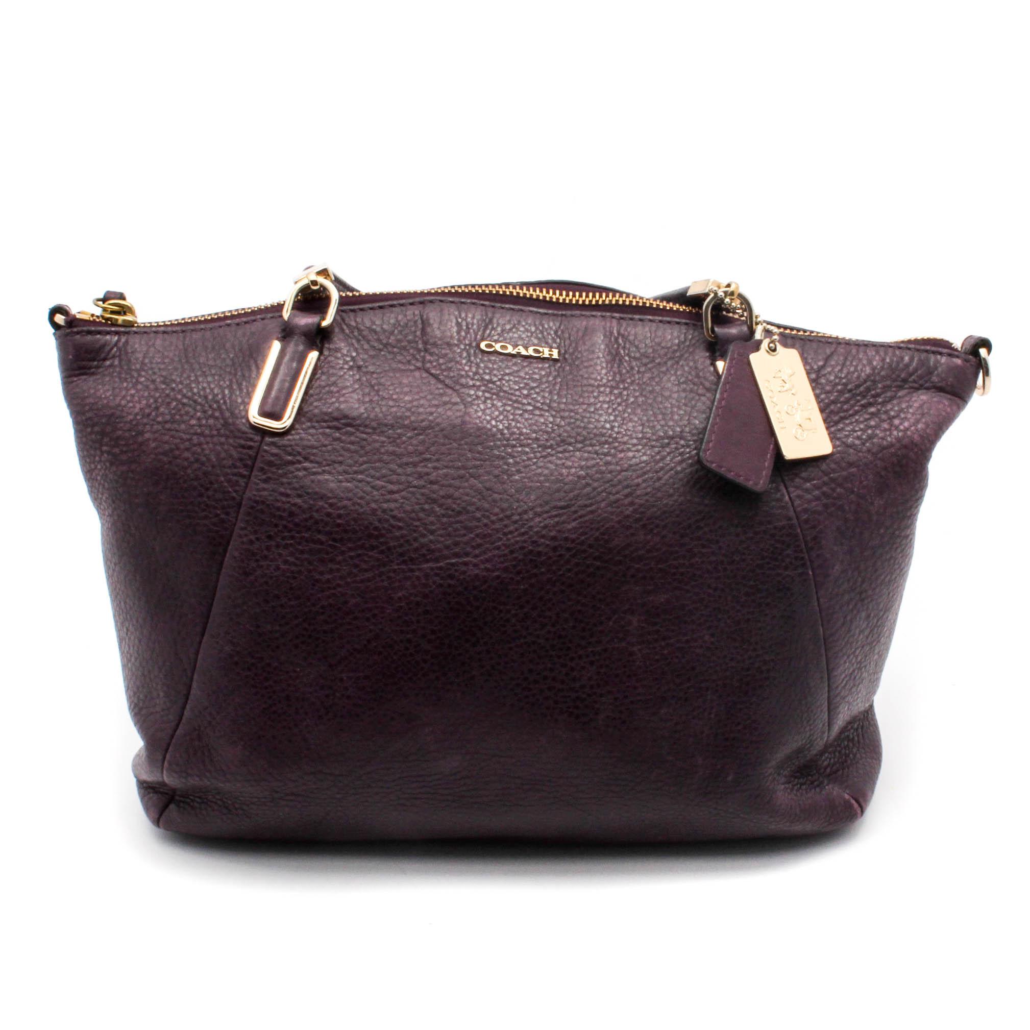 a107cd7c8180c ... satchel 100 9de9f 149d9 cheapest coach kelsey plum pebbled leather  handbag 12e5b 9ca0c ...