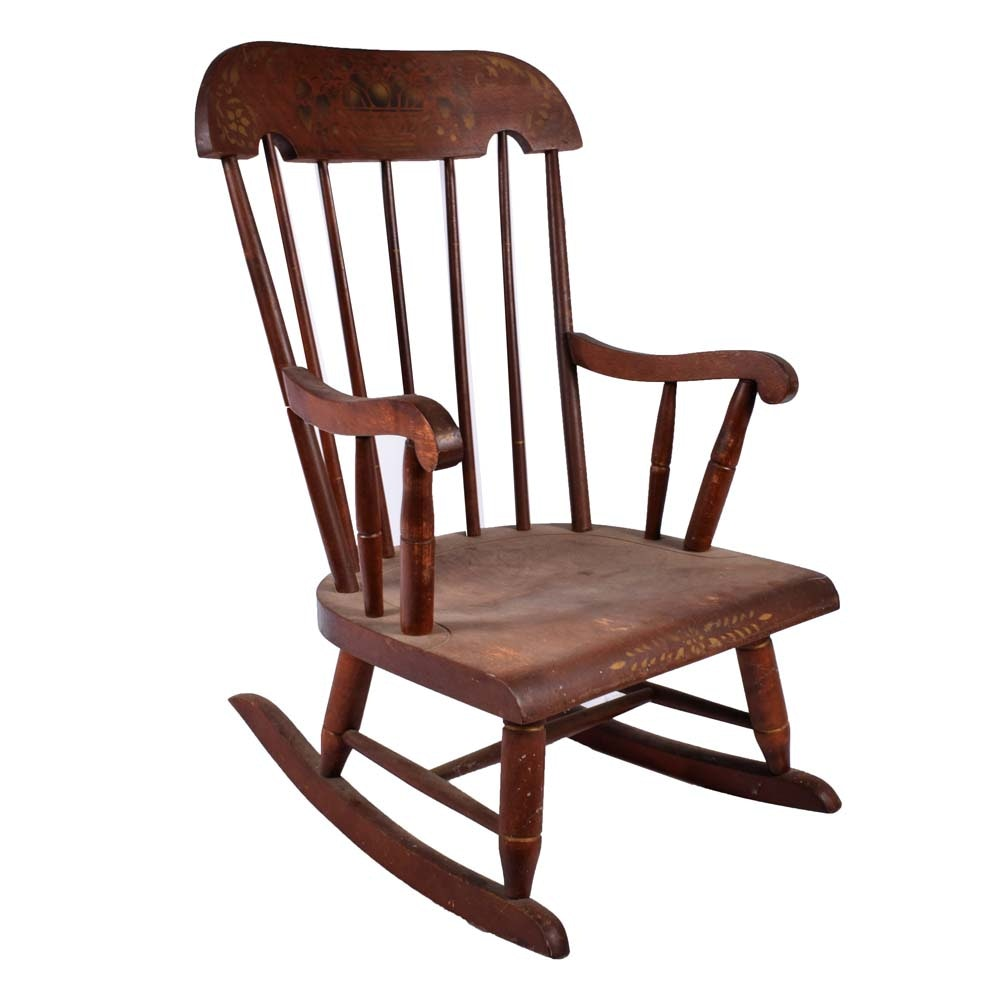 Child's Colonial Revival Style Rocking Chair by Nichols & Stone