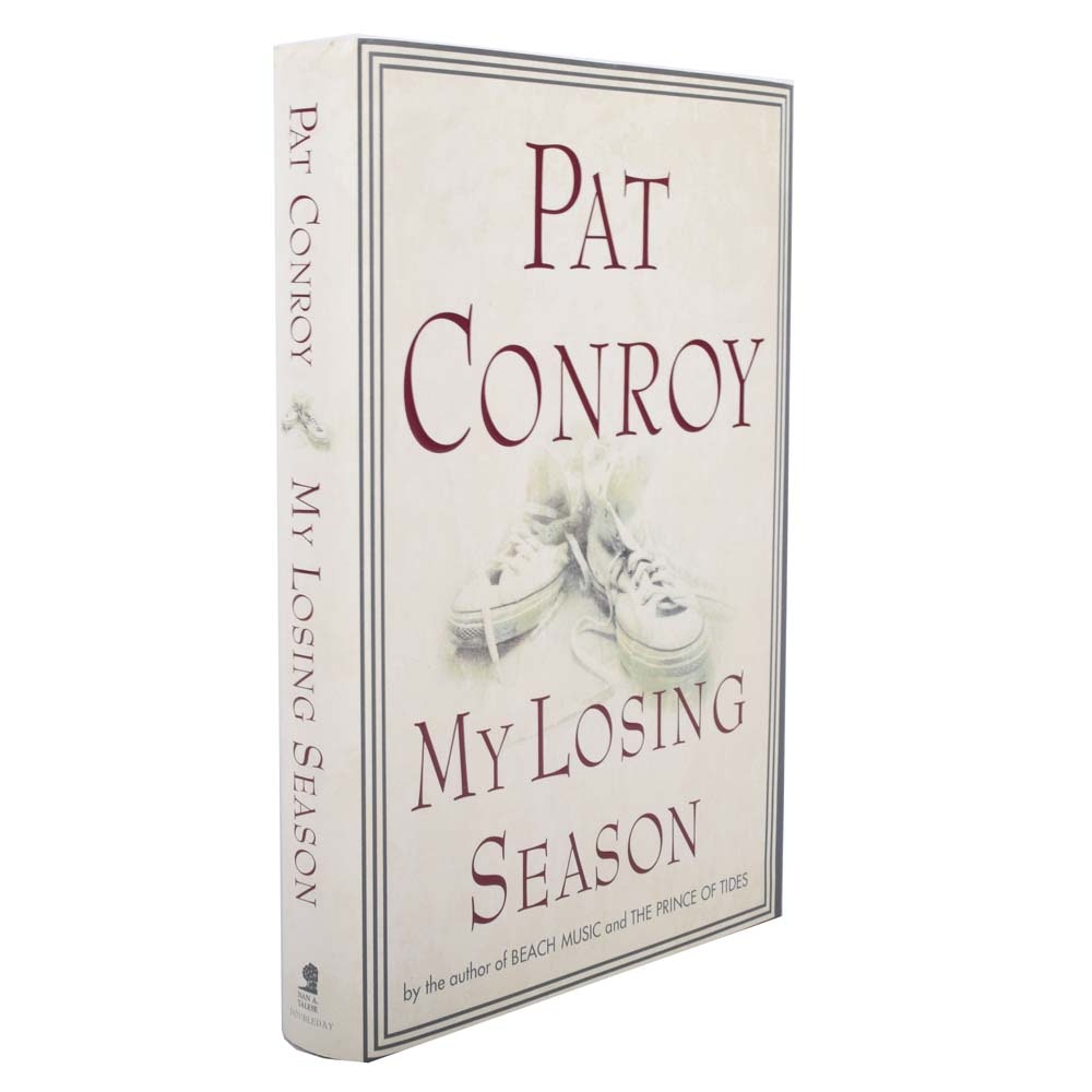 "Signed First Edition ""My Losing Season"" by Pat Conroy"