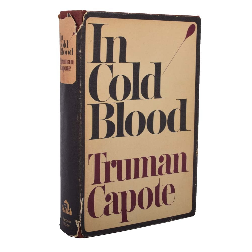 "First Printing ""In Cold Blood"" by Truman Capote"