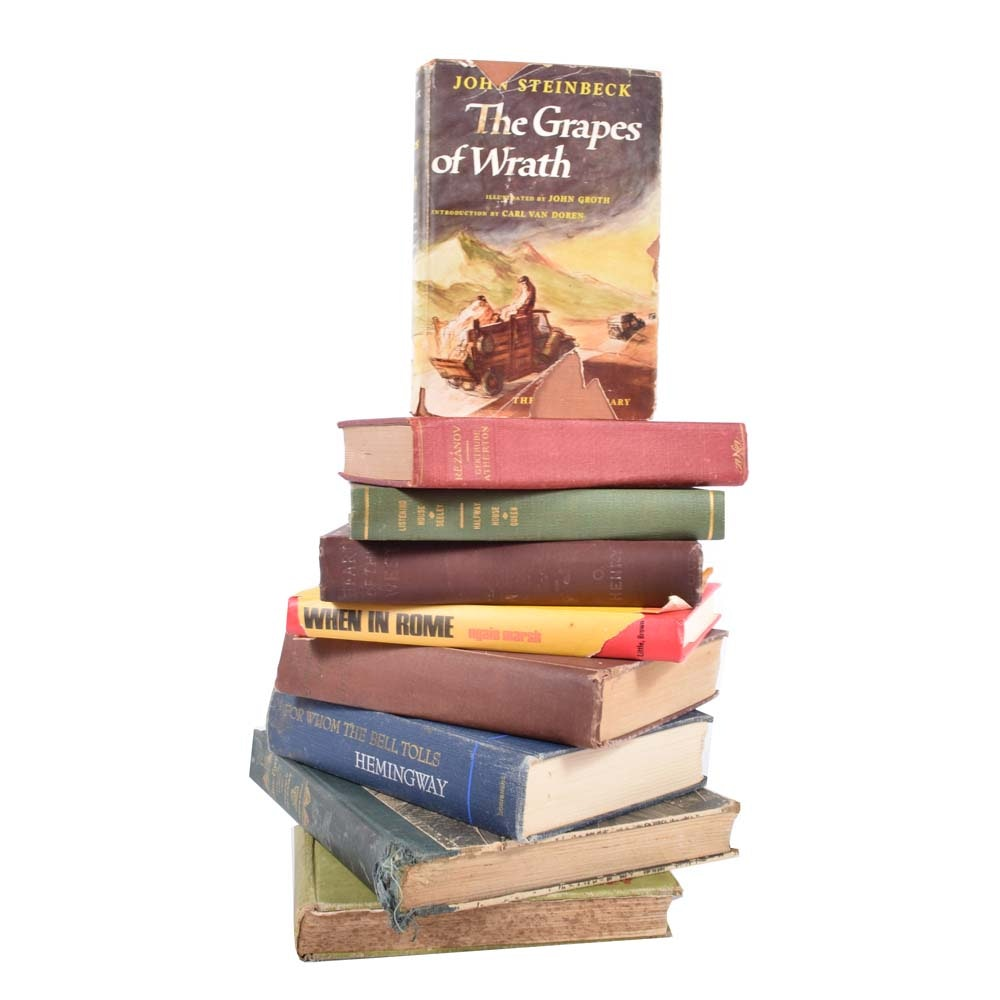 Vintage Hardcover Classic Fiction