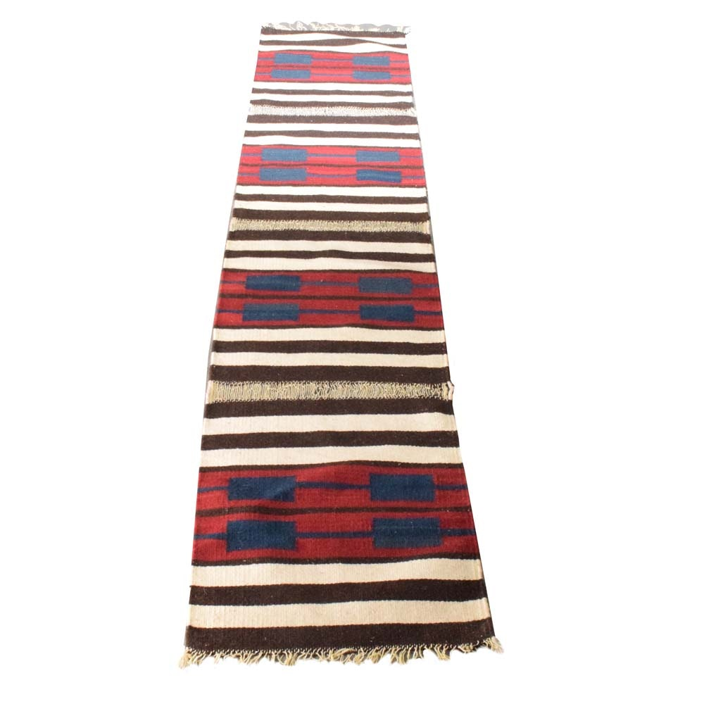 Handwoven Turkish Wool Hall Runner