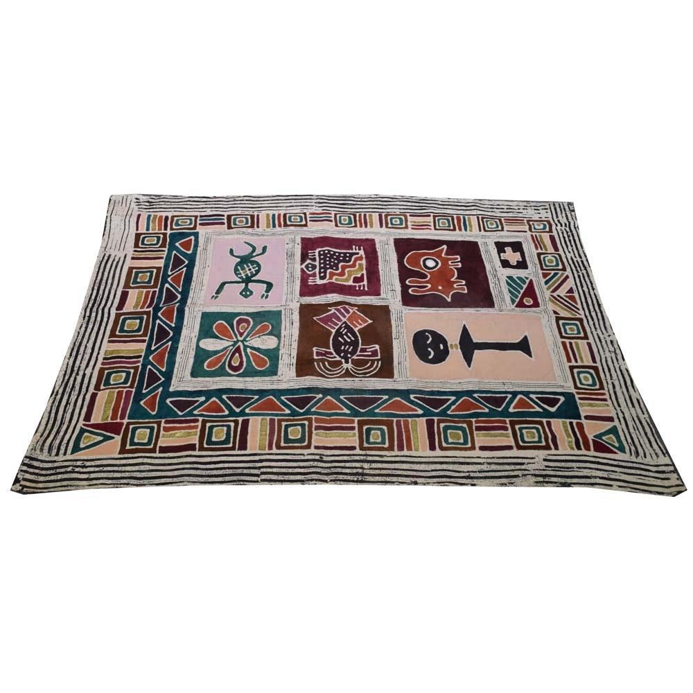Batik Printed Woven Textile