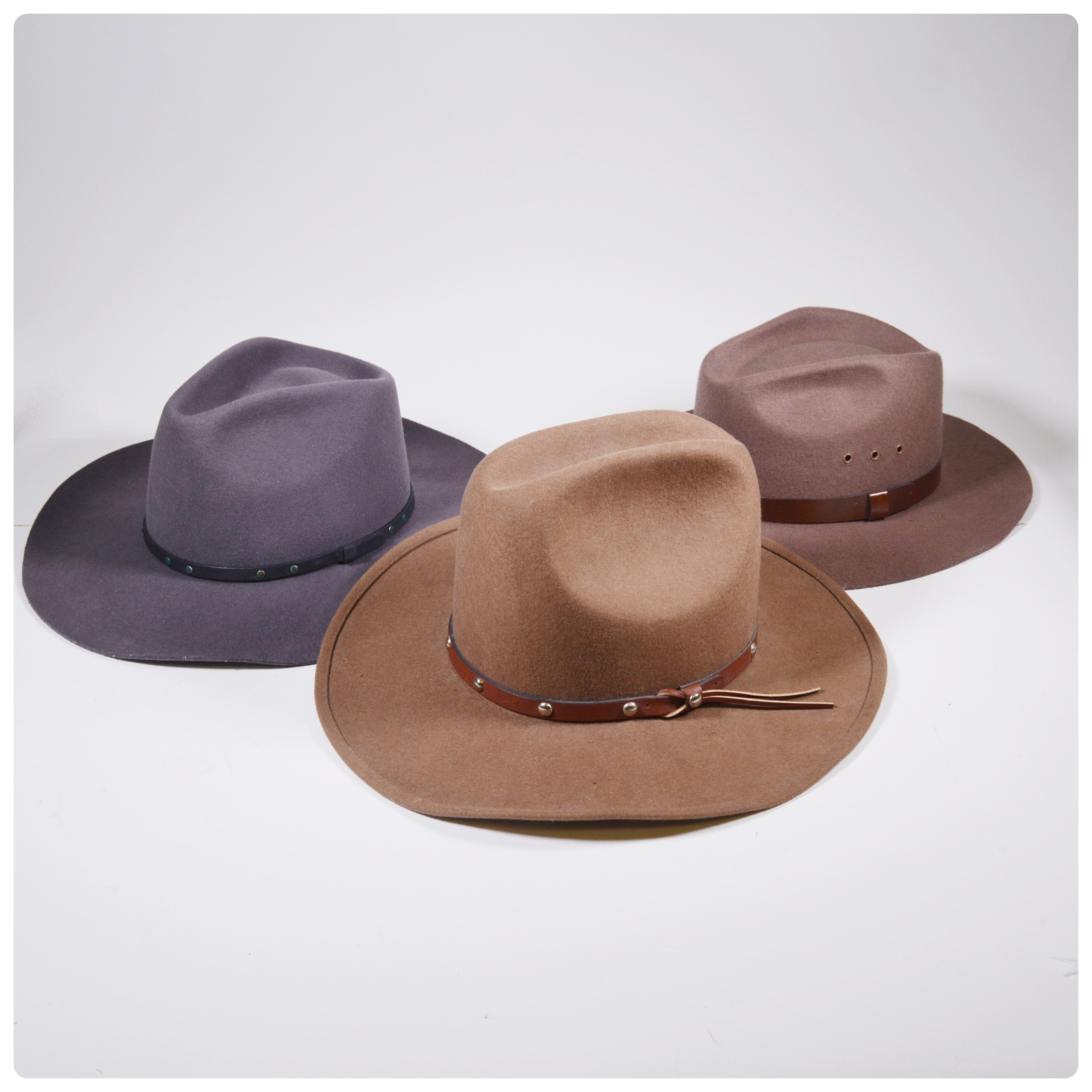Gentlemen's Wool Felted Hats Including Bailey