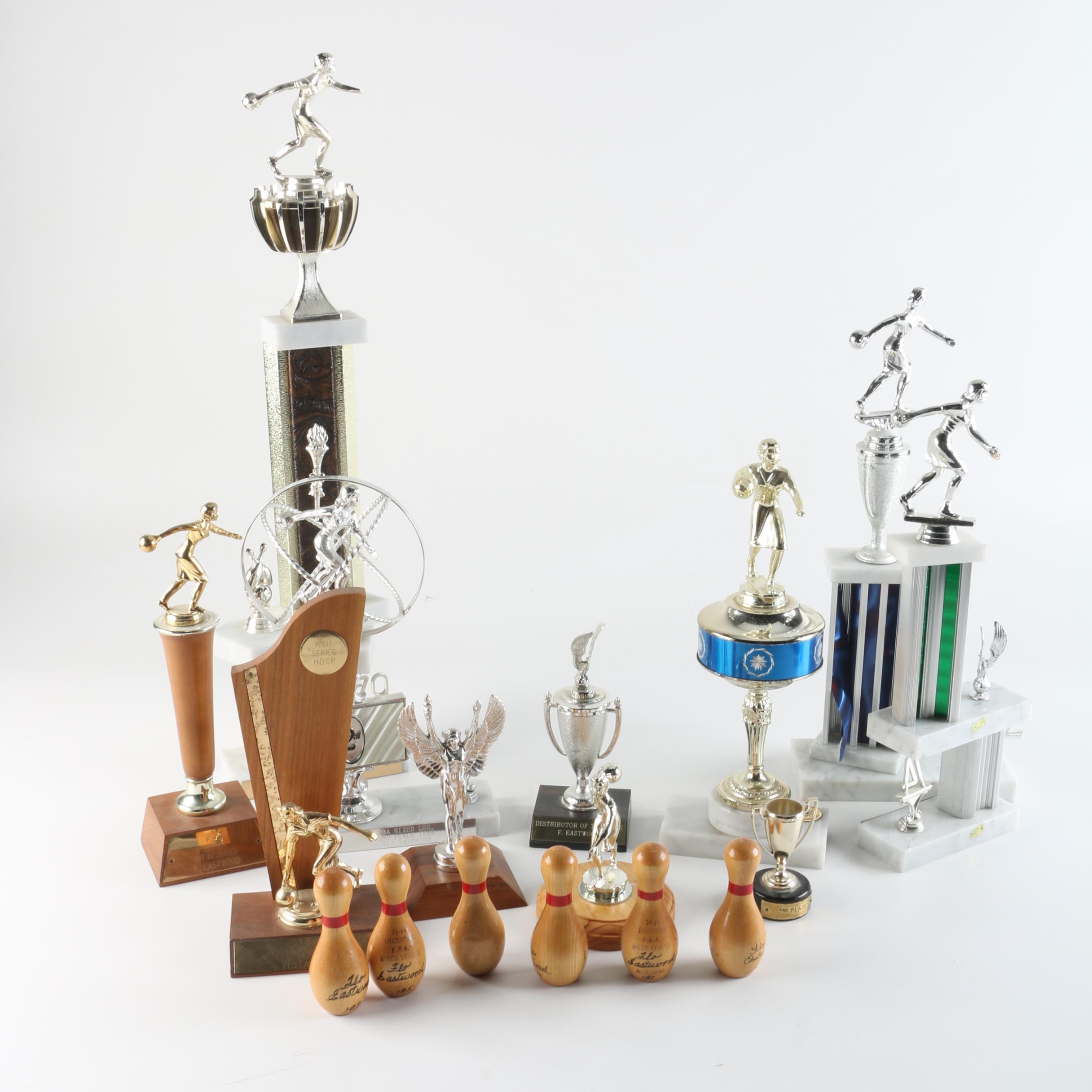C. 1970s Bowling Trophies