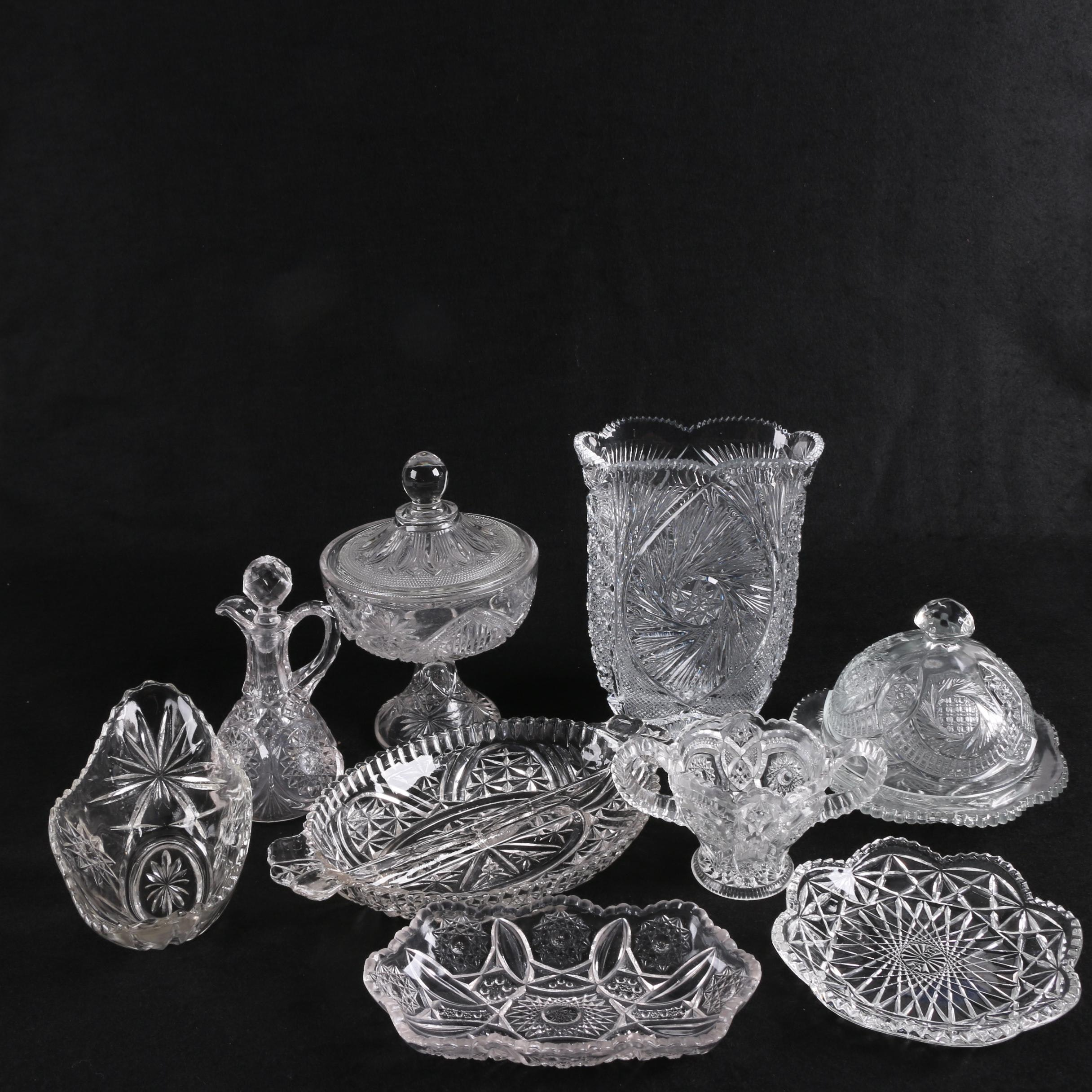 Crystal and Glass Décor and Tableware