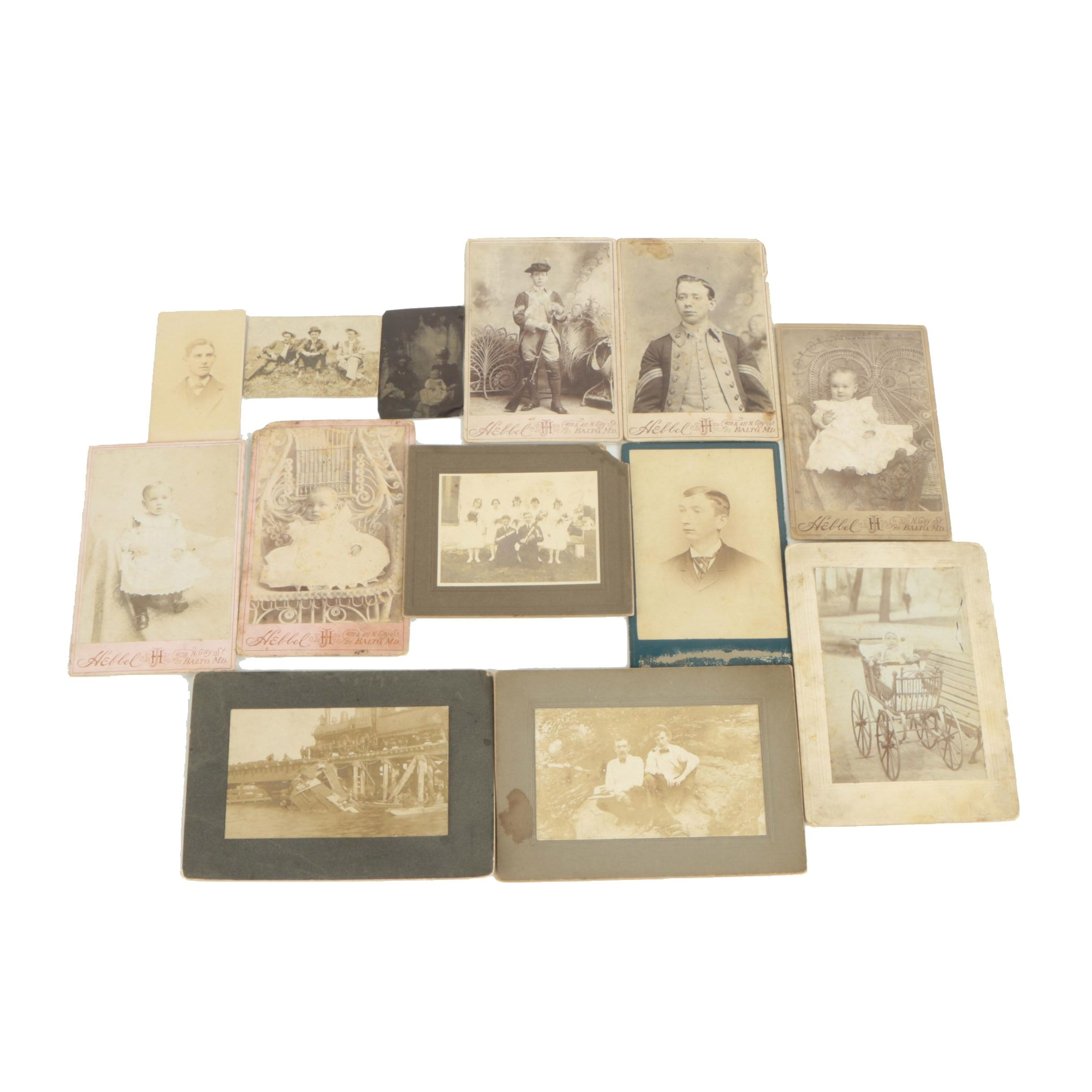 Antique Military and Family Photographs