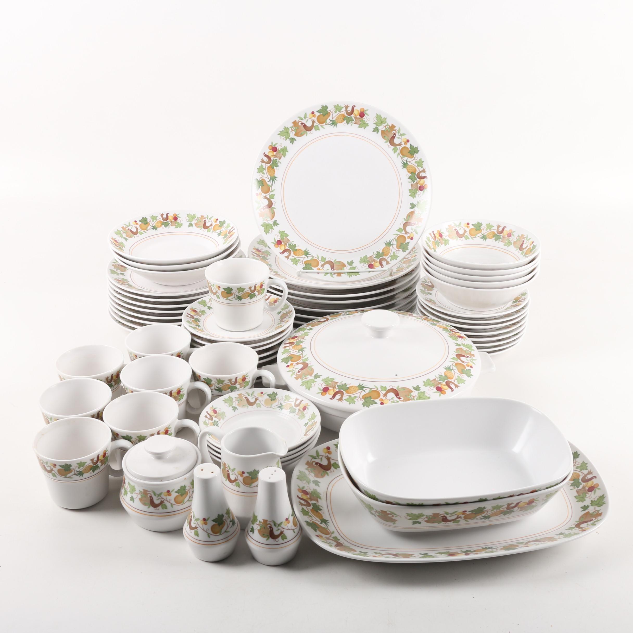 """Vintage Noritake """"Homecoming"""" Porcelain Tableware ca. 1966-79"""