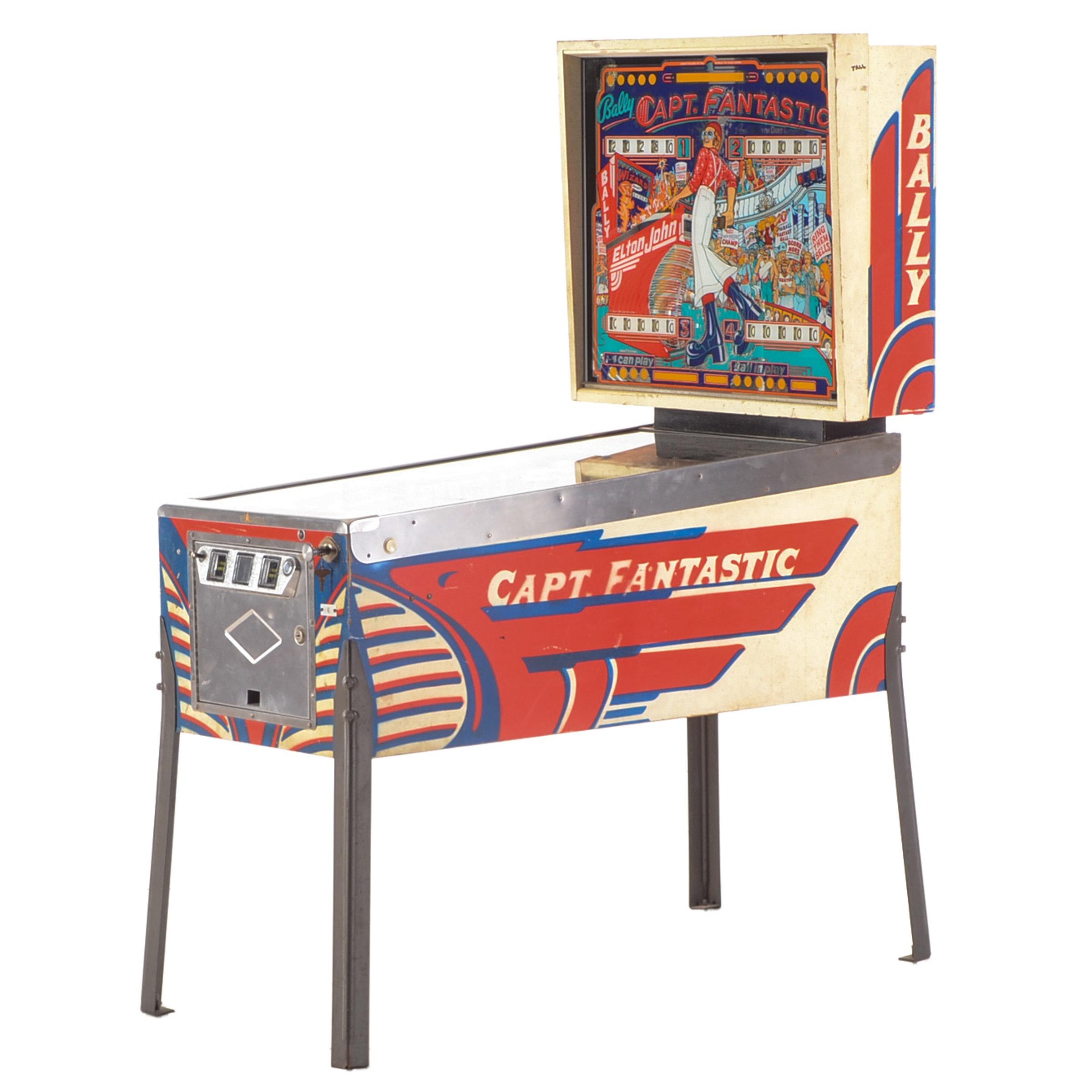 "Elton John ""Captain Fantastic"" Pinball Machine by Bally"