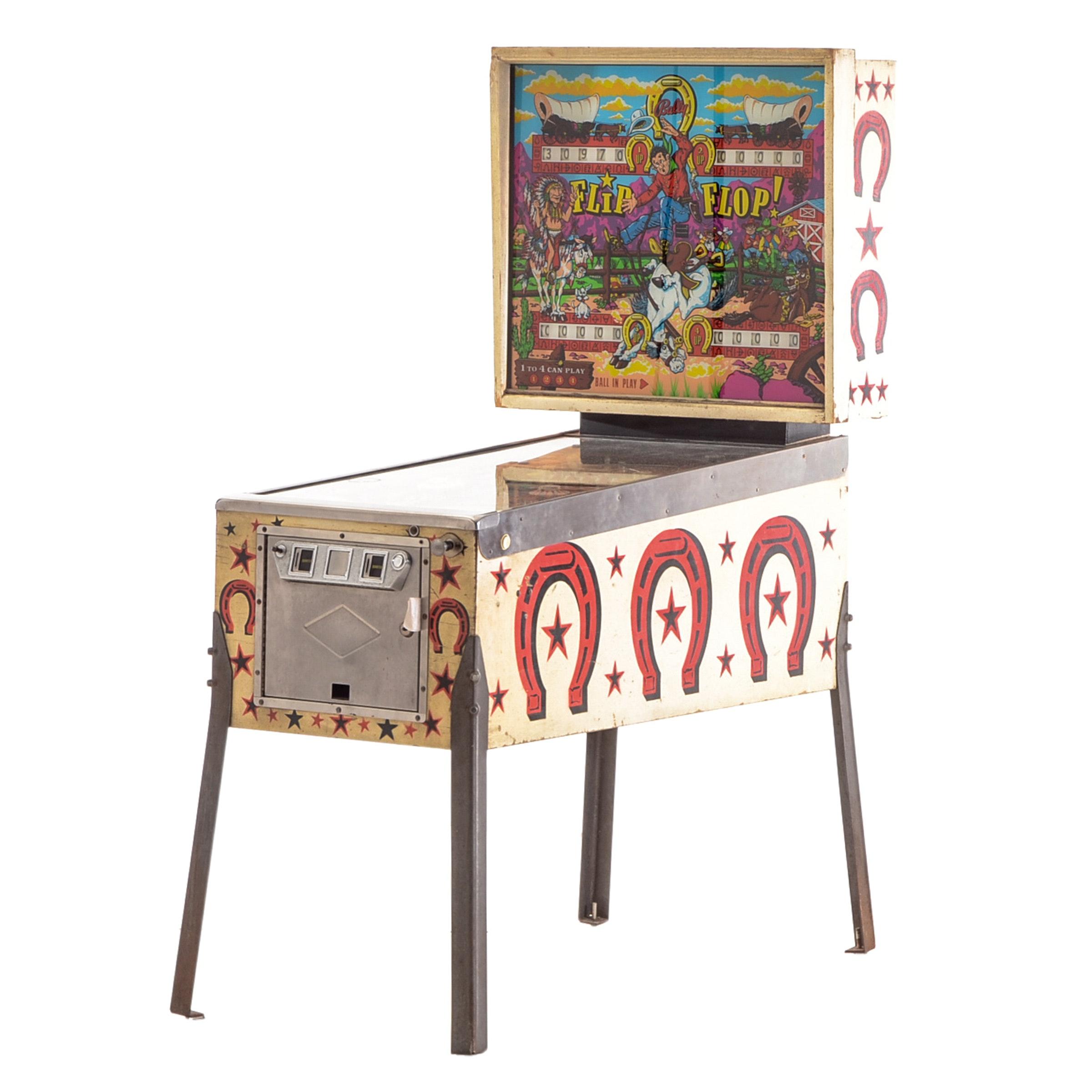 """Flip Flop!"" Pinball Machine by Bally"