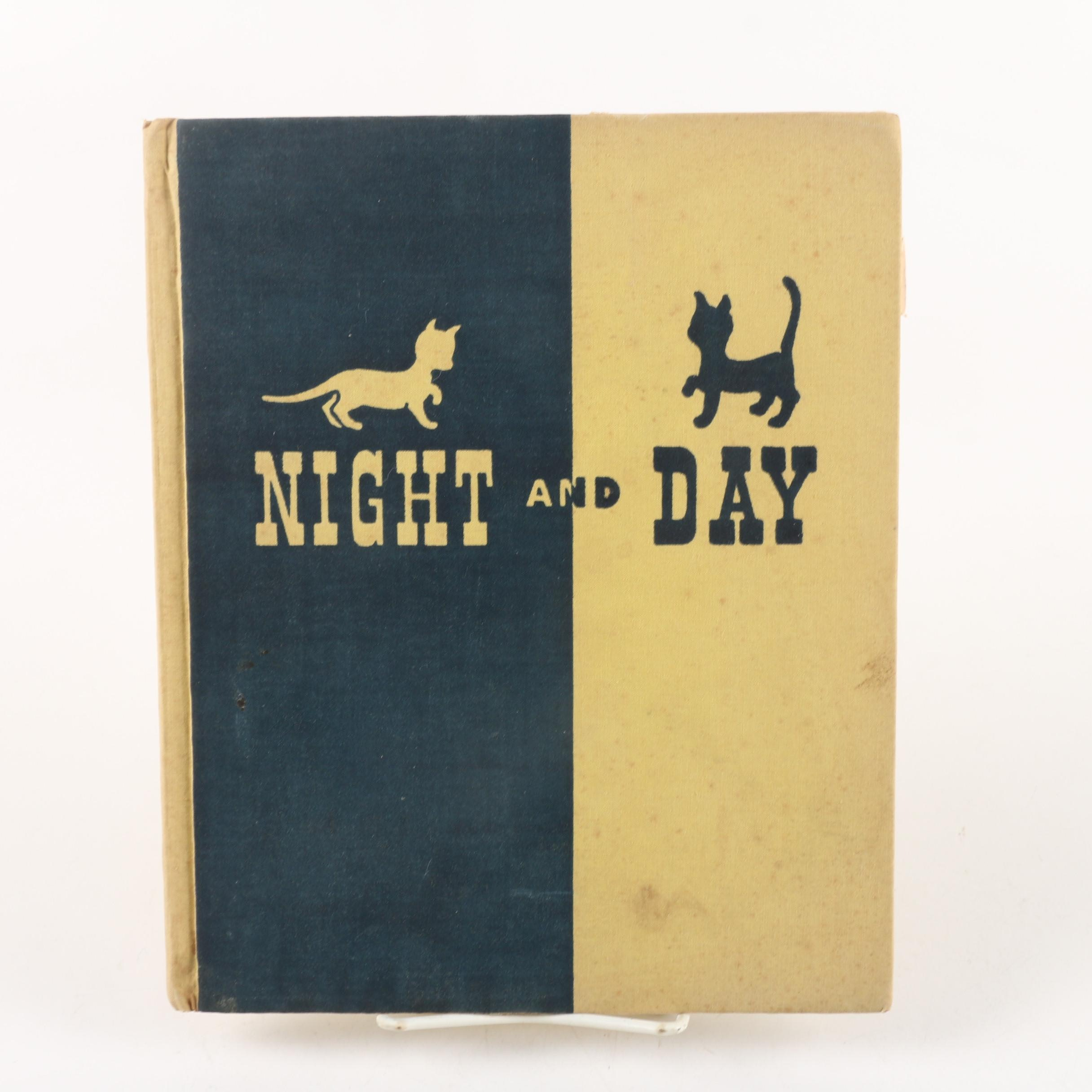 "1942 First Edition ""Night and Day"" by Margaret Wise Brown"