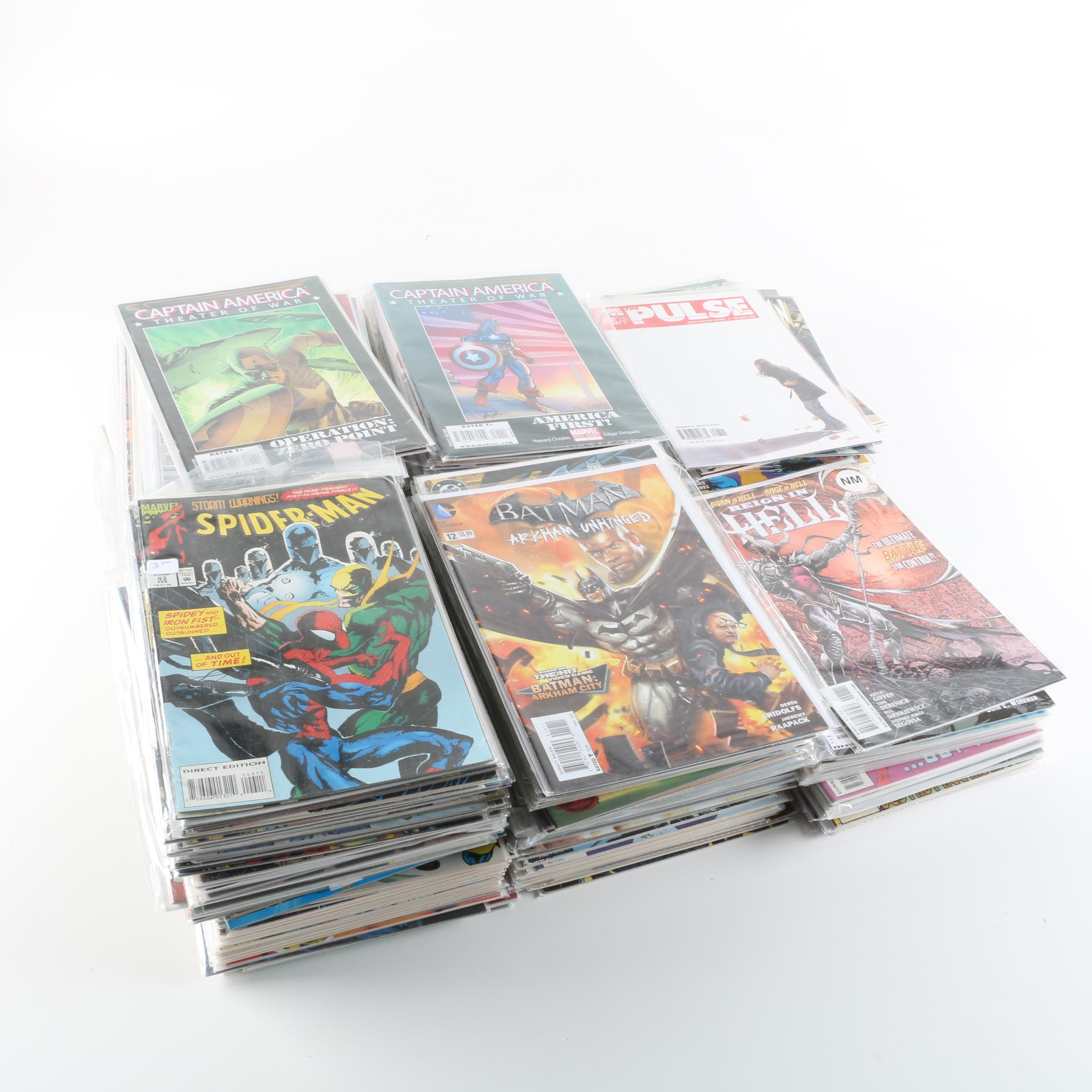 Modern Age Comic Books Including Batman